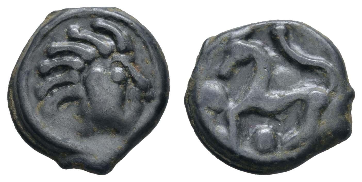 Lot 14 - Antike Kelten - Gallische Stämme -  Auktionshaus Ulrich Felzmann GmbH & Co. KG Auction #161 Philatelic & Numismatic