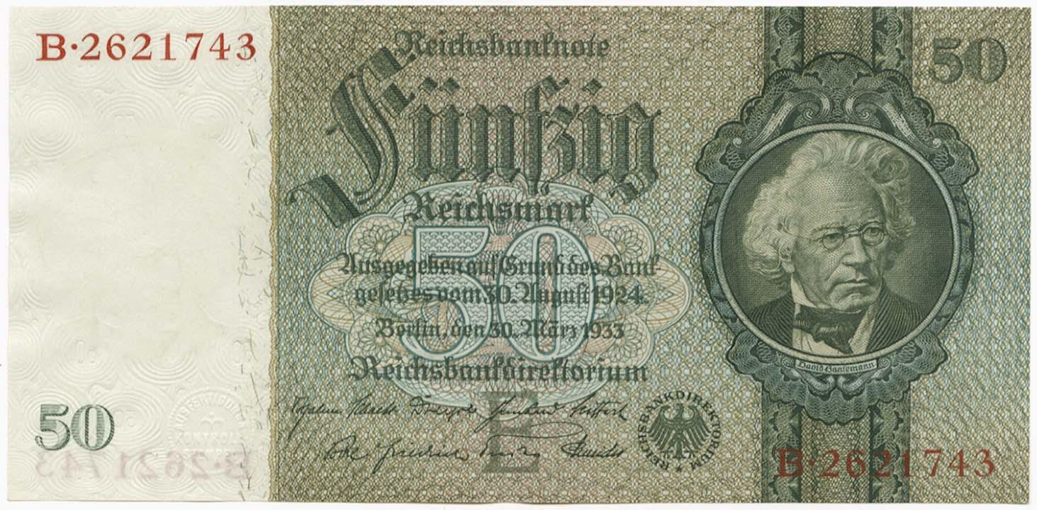 Lot 2135 - Geldscheine Deutschland - Deutsches Reich -  Auktionshaus Ulrich Felzmann GmbH & Co. KG Auction 161 from March 6-10, 2018