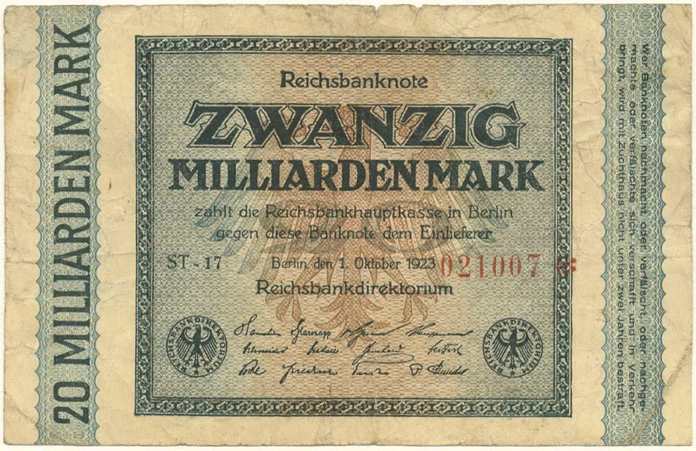 Lot 2136 - Geldscheine Deutschland - Deutsches Reich -  Auktionshaus Ulrich Felzmann GmbH & Co. KG Auction 161 from March 6-10, 2018