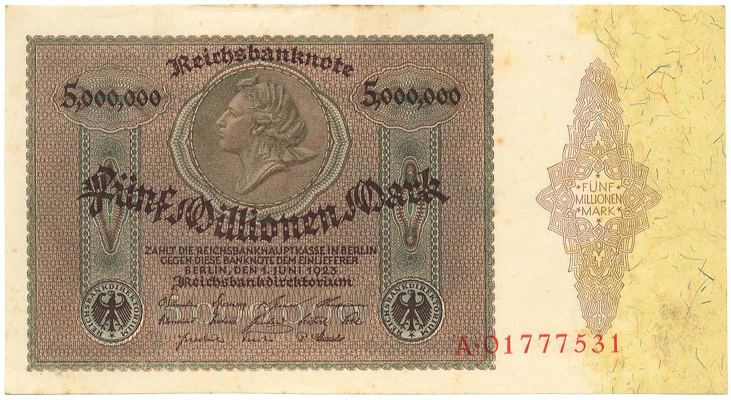 Lot 2137 - Geldscheine Deutschland - Deutsches Reich -  Auktionshaus Ulrich Felzmann GmbH & Co. KG Auction #161 Philatelic & Numismatic