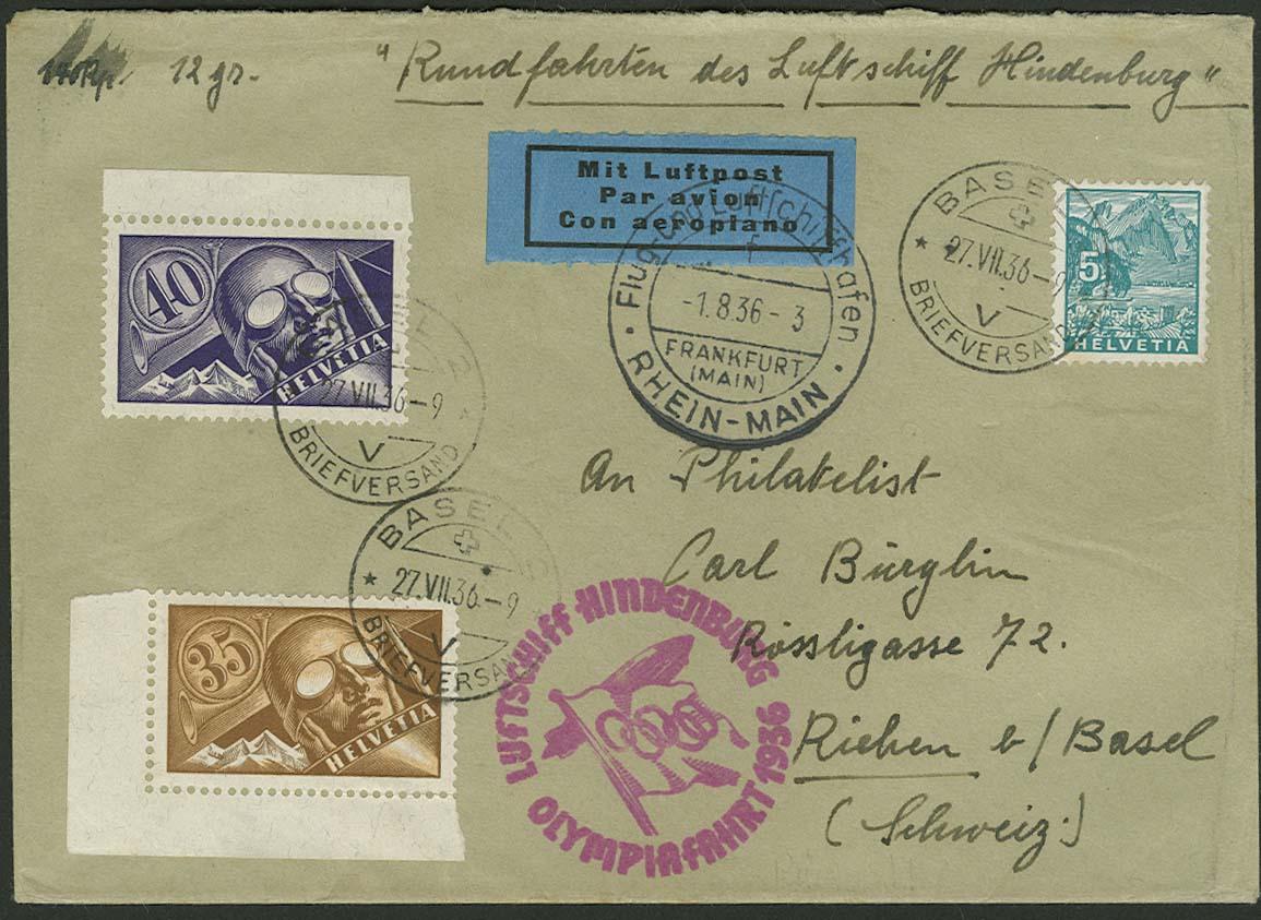 Lot 3648 - Zuleitungen Europa A-Z - Schweiz -  Auktionshaus Ulrich Felzmann GmbH & Co. KG Auction 161 from March 6-10, 2018