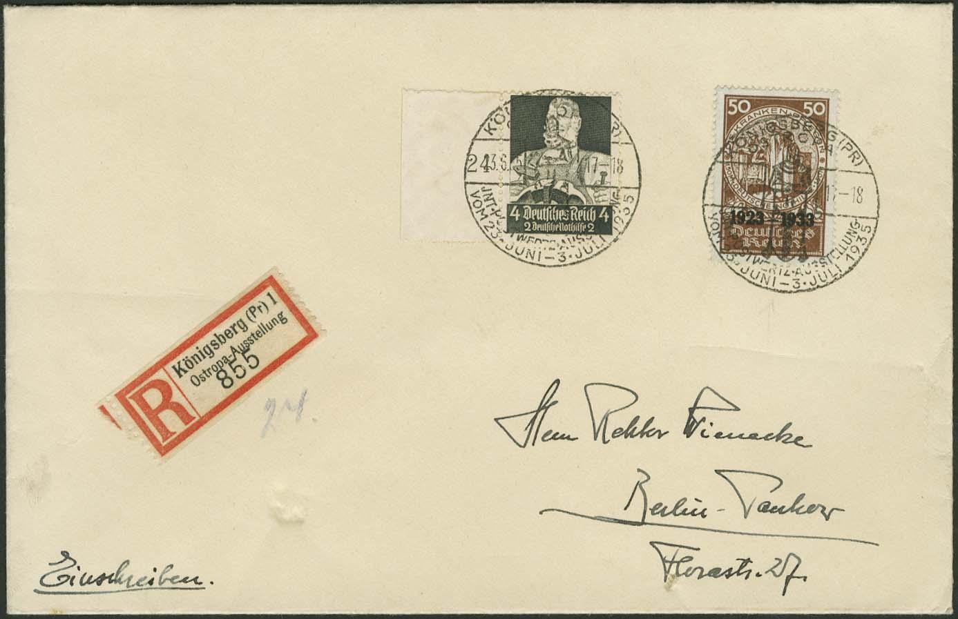 Lot 5091 - Deutsches Reich drittes reich -  Auktionshaus Ulrich Felzmann GmbH & Co. KG Auction #161 Philatelic & Numismatic