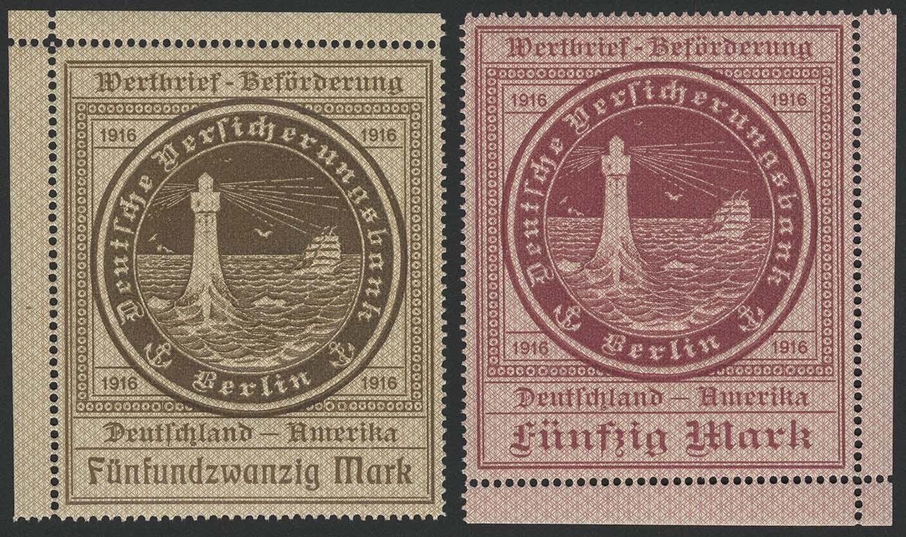 Lot 5269 - schiffspost Marken deutscher Seeposten - Ozeanreederei -  Auktionshaus Ulrich Felzmann GmbH & Co. KG Auction #161 Philatelic & Numismatic