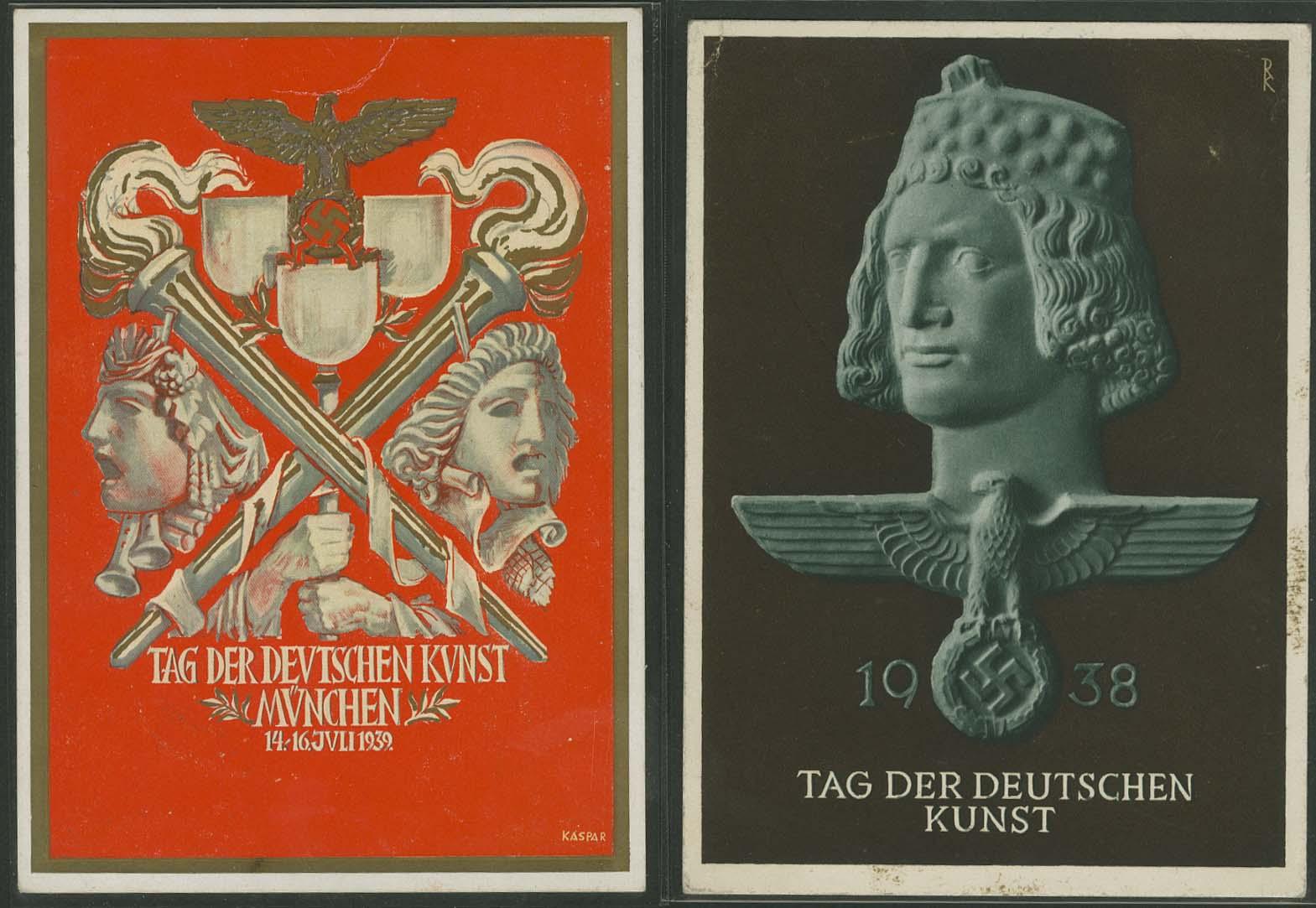 Lot 5841 - Propaganda-Karten II. WK Deutsche Propaganda-Karten -  Auktionshaus Ulrich Felzmann GmbH & Co. KG Auction #161 Philatelic & Numismatic