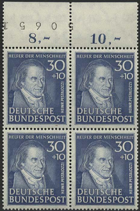 Lot 6085 - bundesrepublik deutschland Markenausgaben -  Auktionshaus Ulrich Felzmann GmbH & Co. KG Auction #161 Philatelic & Numismatic