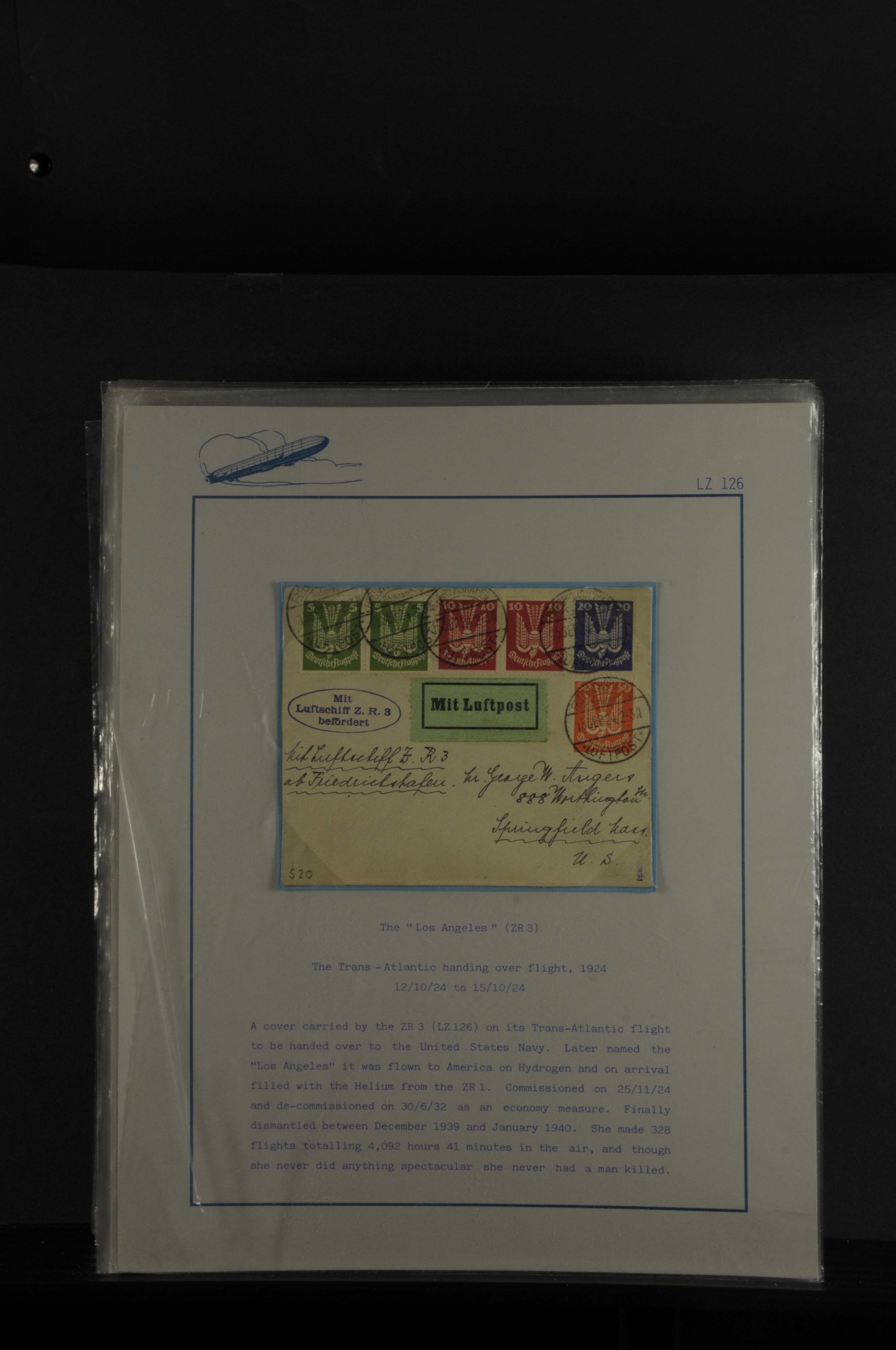 Lot 7646 - Flug- und Zeppelinpost zeppelinpost -  Auktionshaus Ulrich Felzmann GmbH & Co. KG Auction #161 Philatelic & Numismatic