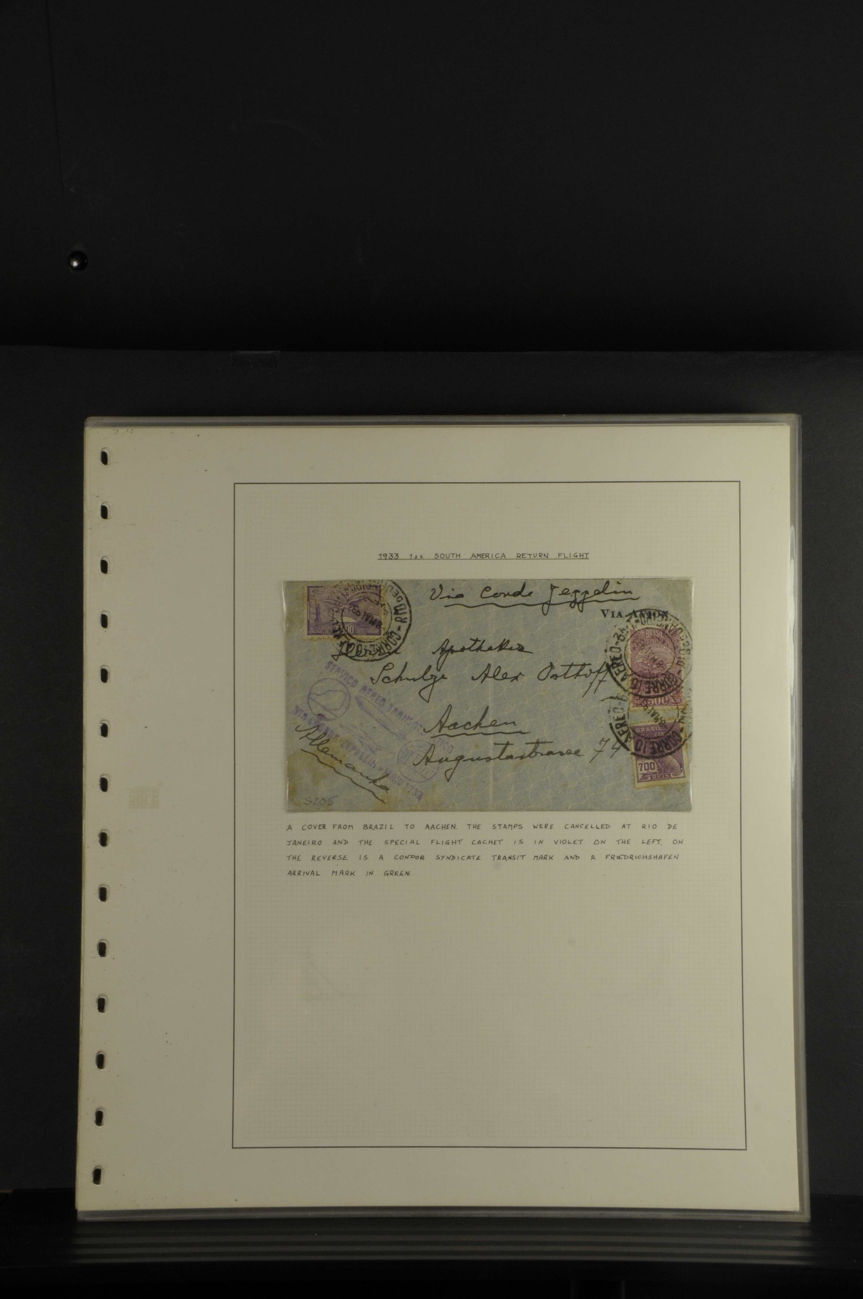 Lot 7650 - Flug- und Zeppelinpost zeppelinpost -  Auktionshaus Ulrich Felzmann GmbH & Co. KG Auction #161 Philatelic & Numismatic