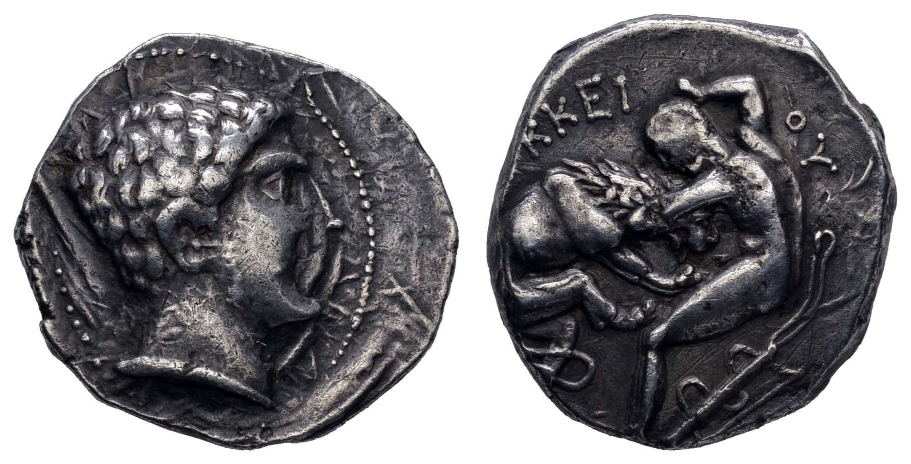 Lot 32 - Antike Griechen - Königreich Paionien -  Auktionshaus Ulrich Felzmann GmbH & Co. KG Coins single lots