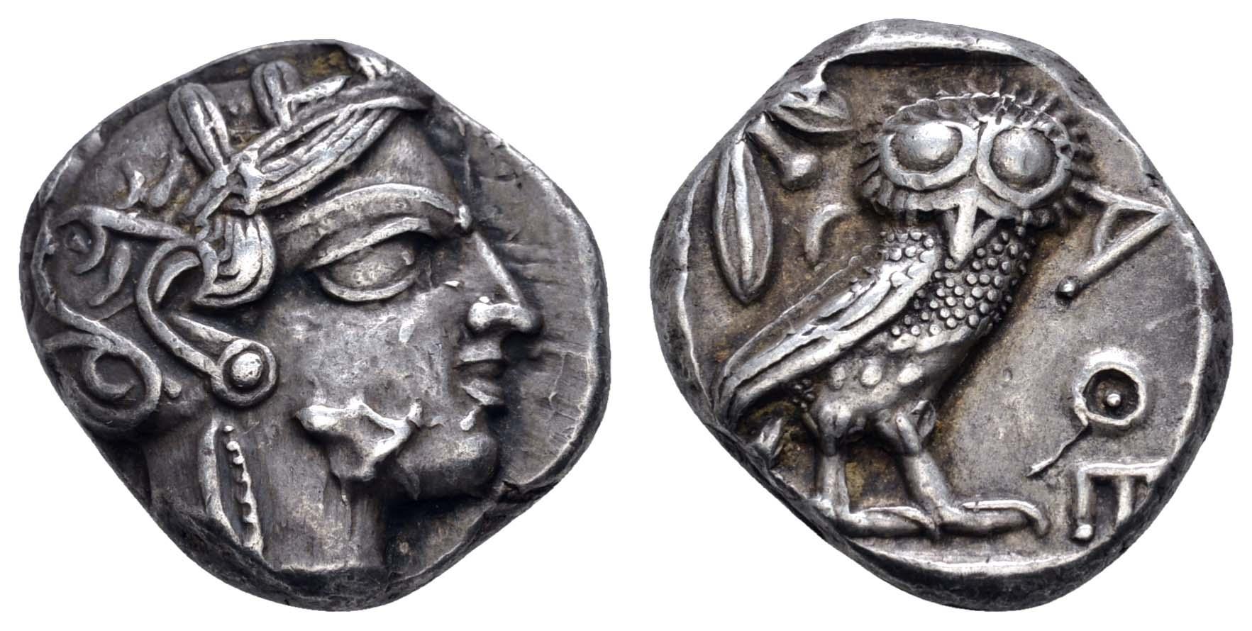 Lot 33 - Antike Griechen - Attika -  Auktionshaus Ulrich Felzmann GmbH & Co. KG Coins single lots