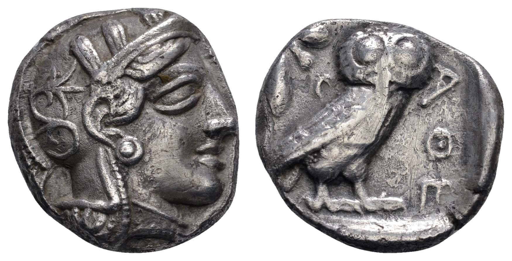 Lot 35 - Antike Griechen - Attika -  Auktionshaus Ulrich Felzmann GmbH & Co. KG Coins single lots