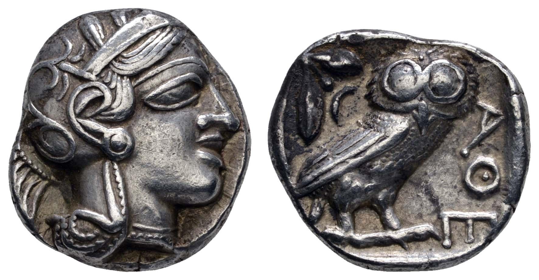 Lot 36 - Antike Griechen - Attika -  Auktionshaus Ulrich Felzmann GmbH & Co. KG Coins single lots