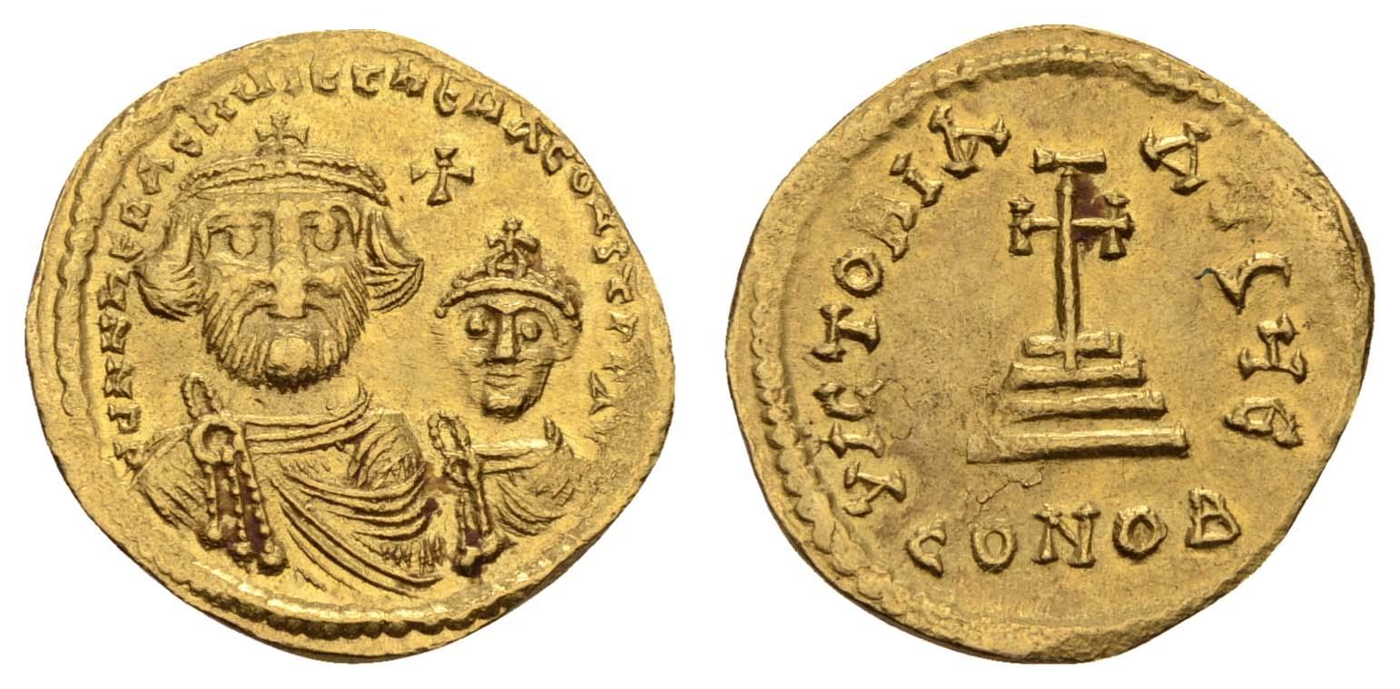 Lot 357 - Antike Byzanz -  Auktionshaus Ulrich Felzmann GmbH & Co. KG Coins single lots