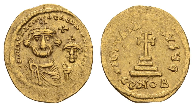 Lot 358 - Antike Byzanz -  Auktionshaus Ulrich Felzmann GmbH & Co. KG Coins single lots