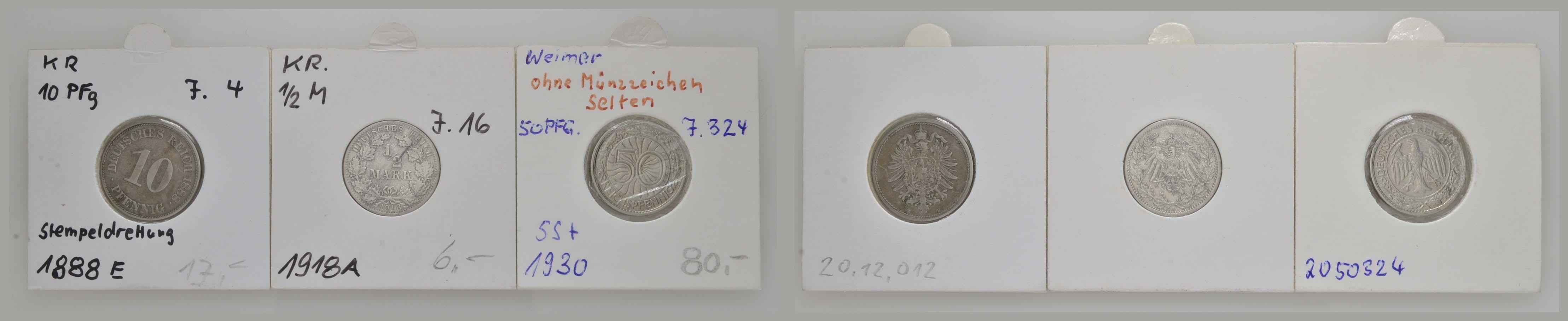 Lot 445 - deutschland Allgemein -  Auktionshaus Ulrich Felzmann GmbH & Co. KG Coins single lots