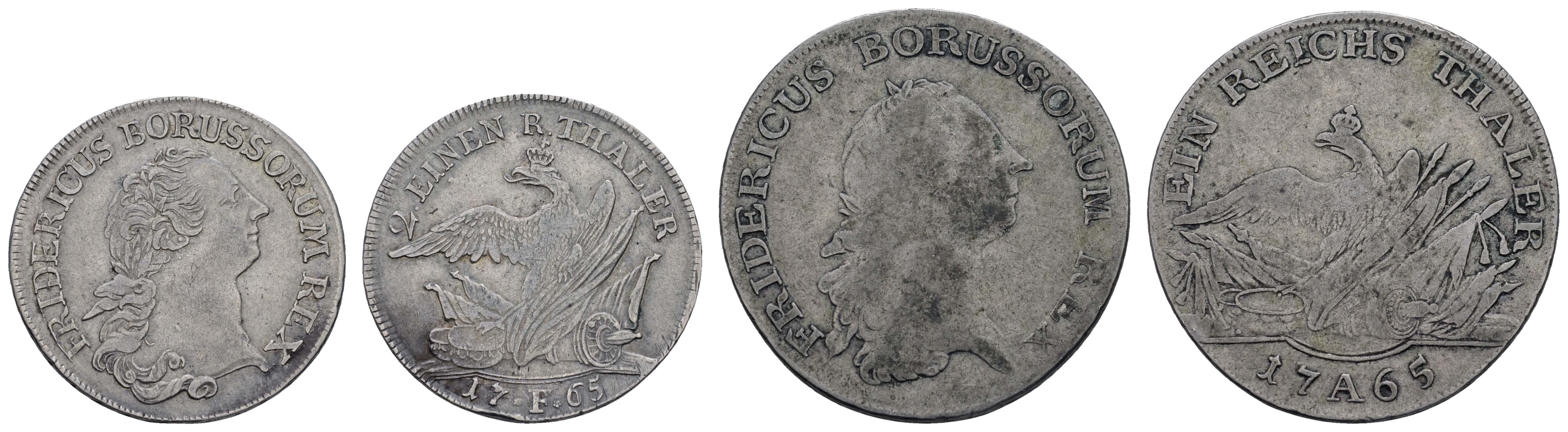 Lot 536 - deutschland bis 1799 - Preußen -  Auktionshaus Ulrich Felzmann GmbH & Co. KG Coins single lots