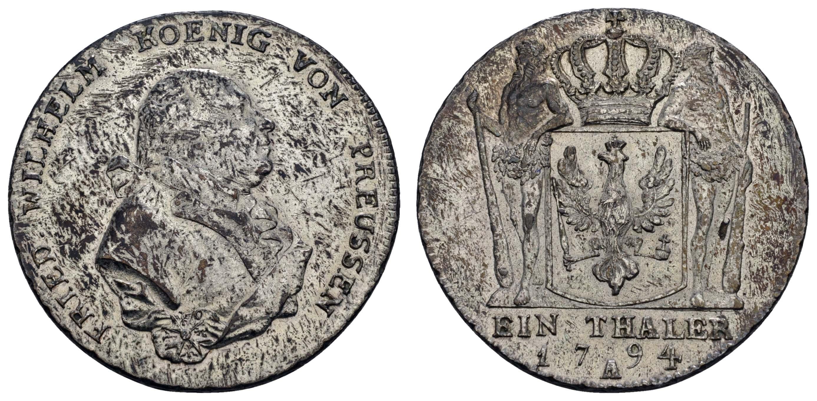 Lot 550 - deutschland bis 1799 - Preußen -  Auktionshaus Ulrich Felzmann GmbH & Co. KG Coins single lots