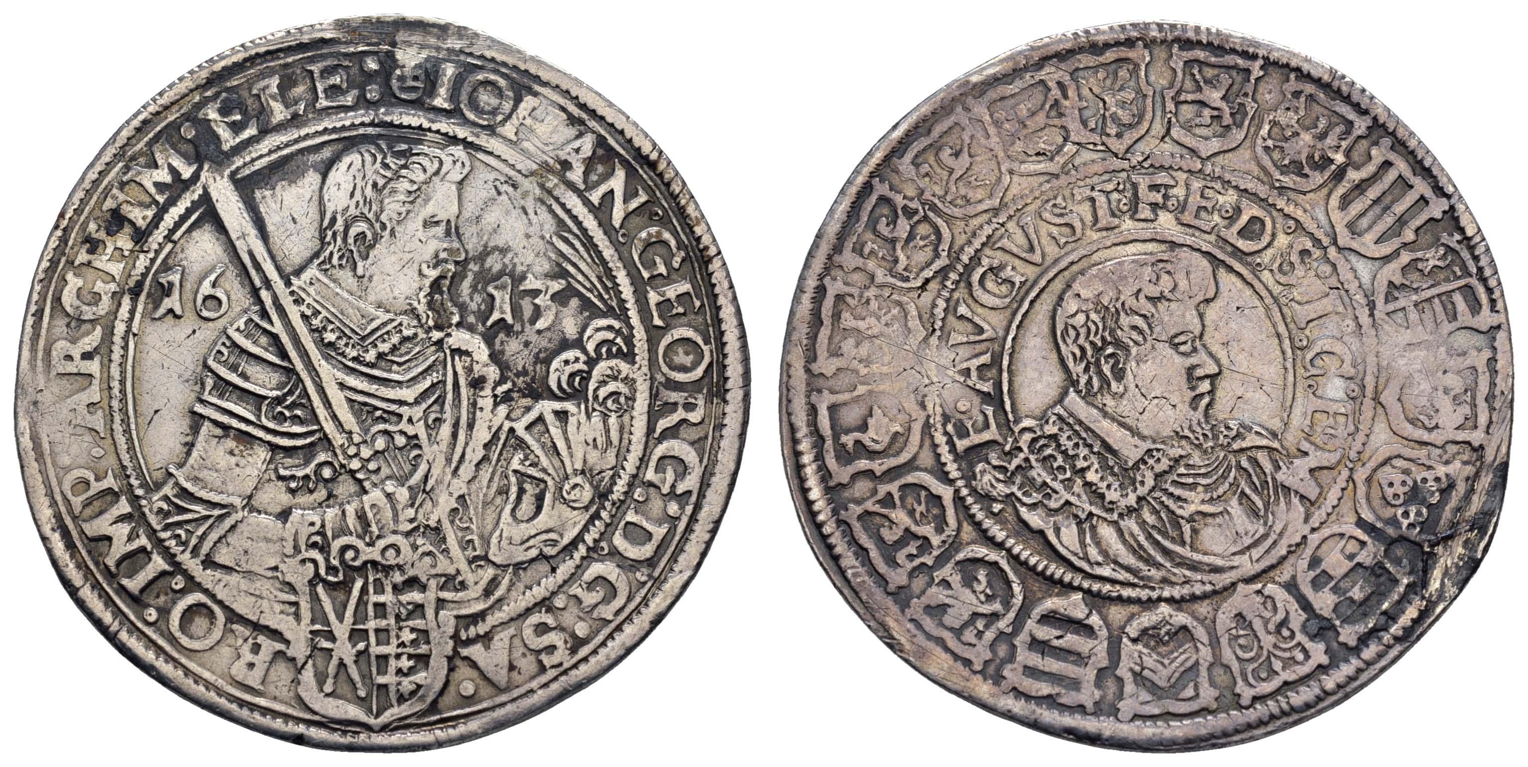Lot 560 - deutschland bis 1799 - Sachsen -  Auktionshaus Ulrich Felzmann GmbH & Co. KG Coins single lots