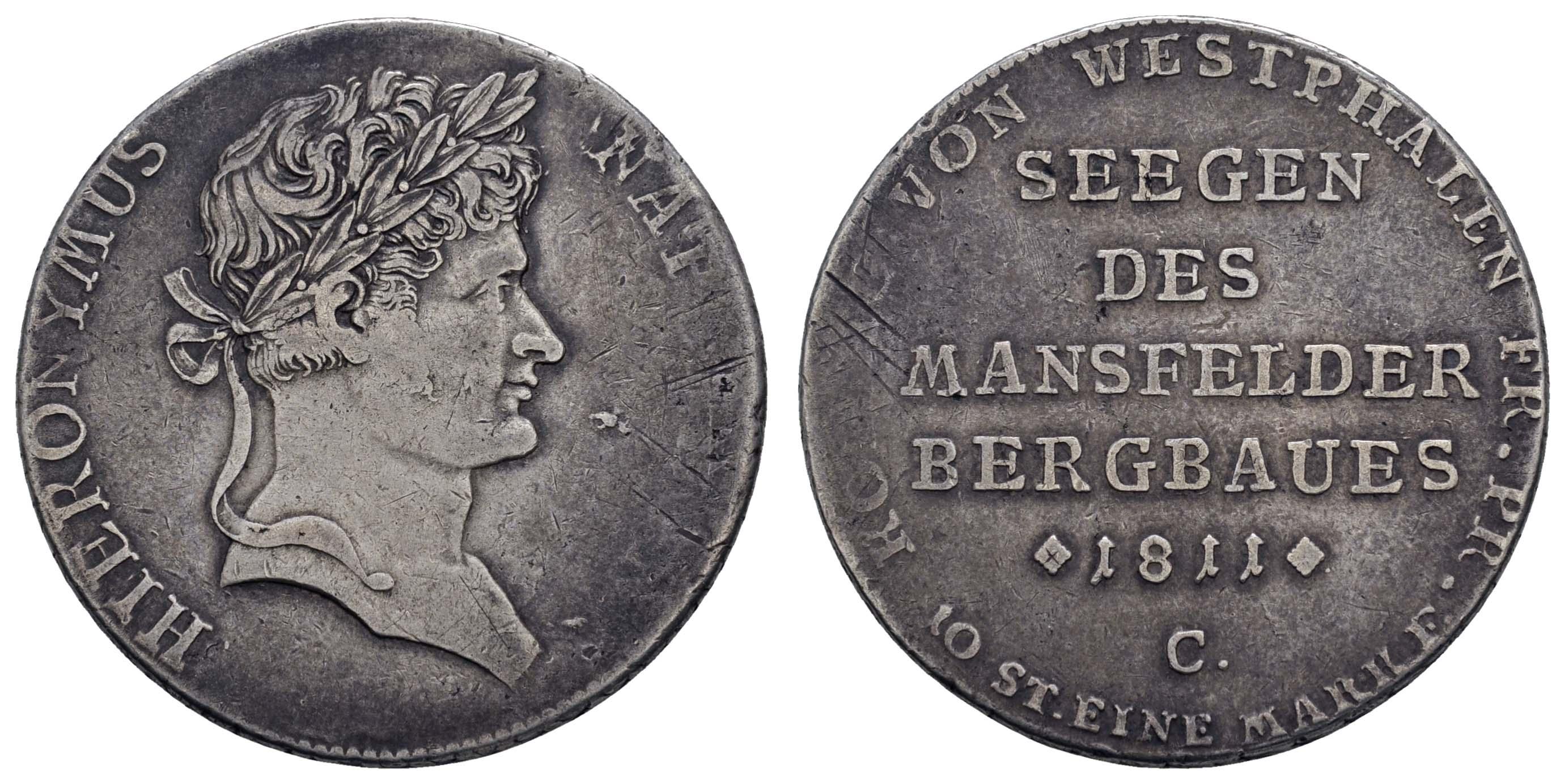 Lot 622 - deutschland 1800 bis 1871 - Westfalen -  Auktionshaus Ulrich Felzmann GmbH & Co. KG Coins single lots