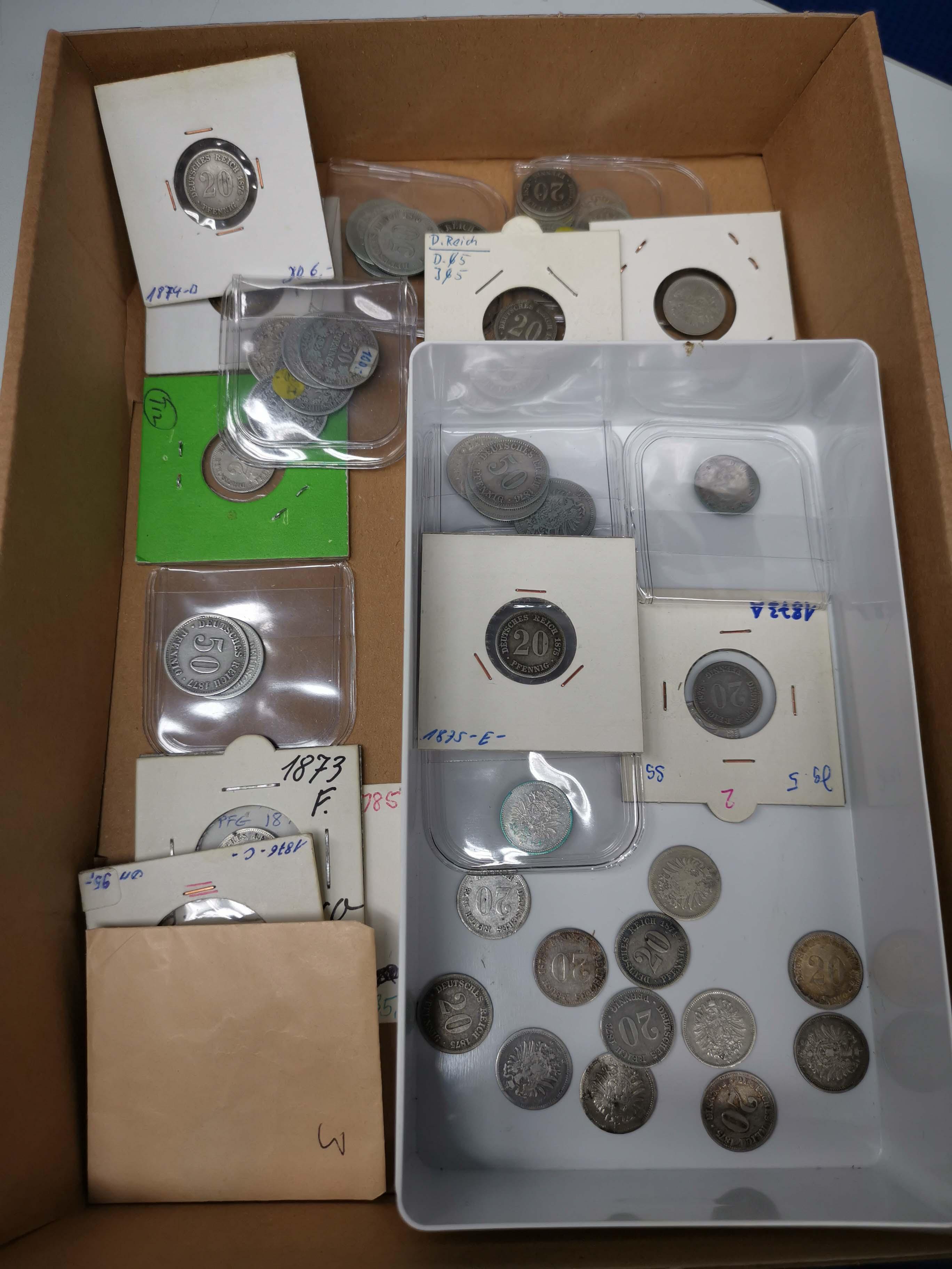 Lot 630 - deutschland Kaiserreich Silbermünzen - Kursmünzen -  Auktionshaus Ulrich Felzmann GmbH & Co. KG Coins single lots