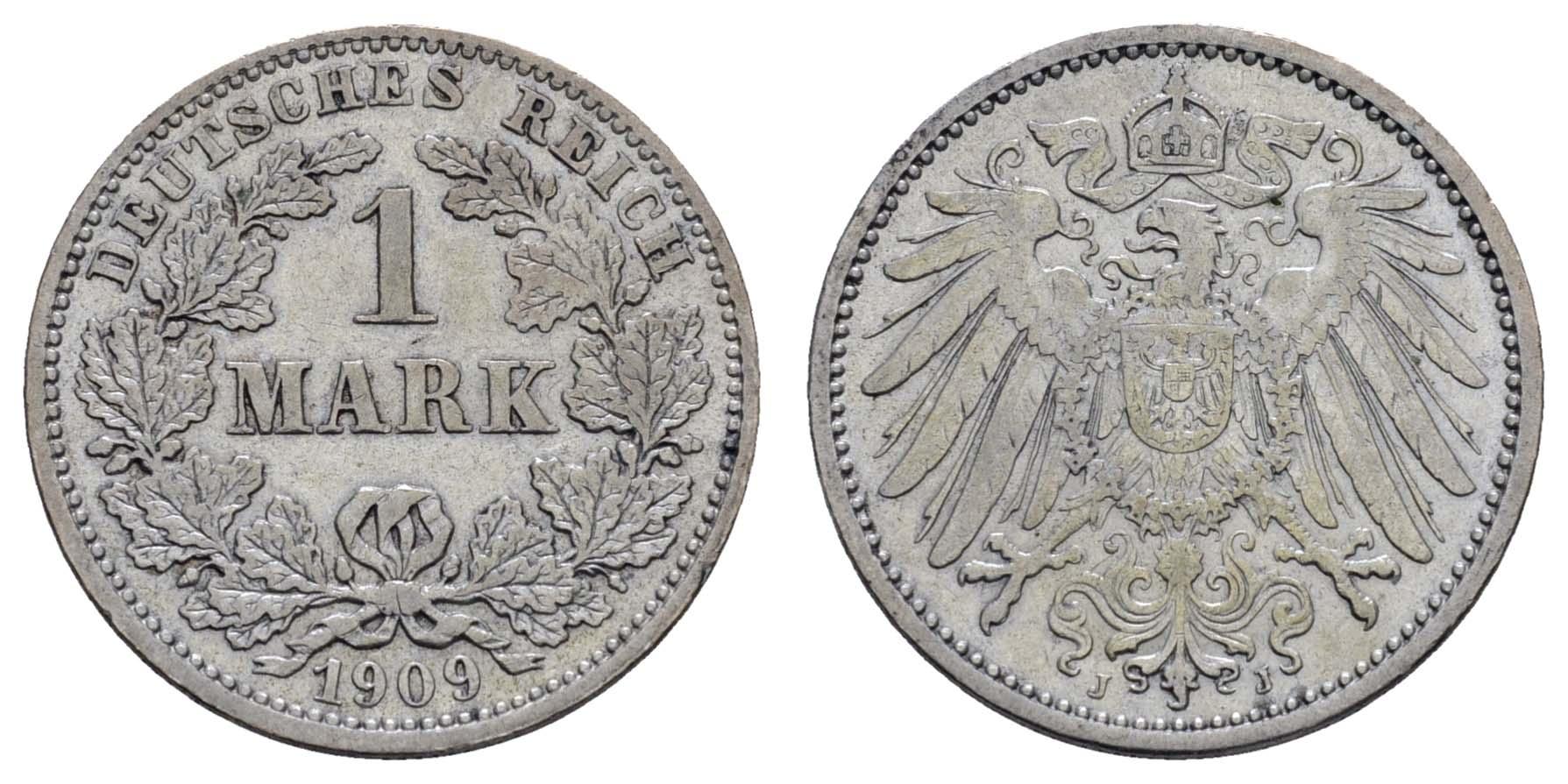 Lot 651 - deutschland Kaiserreich Silbermünzen - Kursmünzen -  Auktionshaus Ulrich Felzmann GmbH & Co. KG Coins single lots