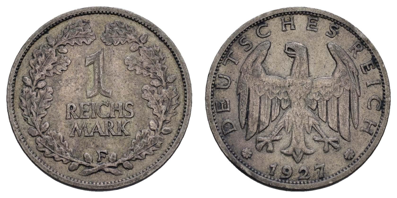 Lot 947 - deutschland weimarer republik -  Auktionshaus Ulrich Felzmann GmbH & Co. KG Coins single lots