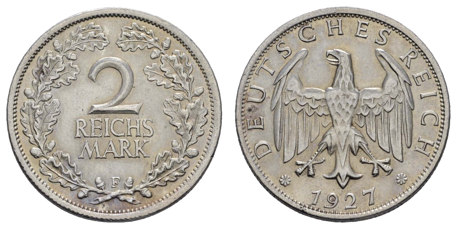Lot 951 - deutschland weimarer republik -  Auktionshaus Ulrich Felzmann GmbH & Co. KG Coins single lots