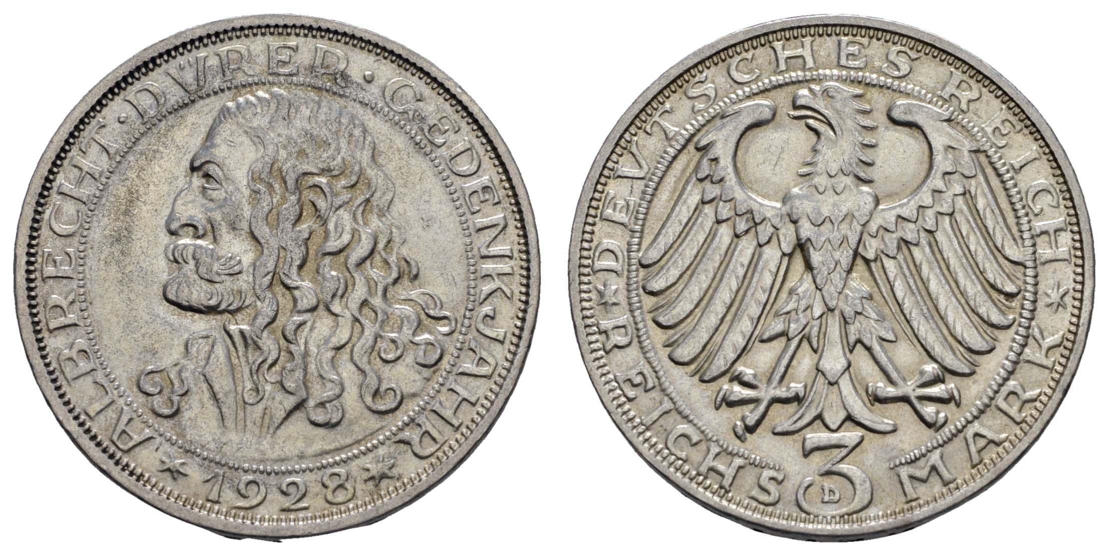 Lot 996 - deutschland weimarer republik -  Auktionshaus Ulrich Felzmann GmbH & Co. KG Coins single lots