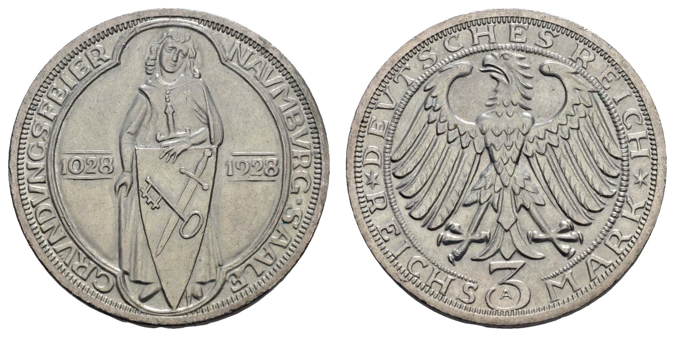 Lot 1000 - deutschland weimarer republik -  Auktionshaus Ulrich Felzmann GmbH & Co. KG Coins single lots