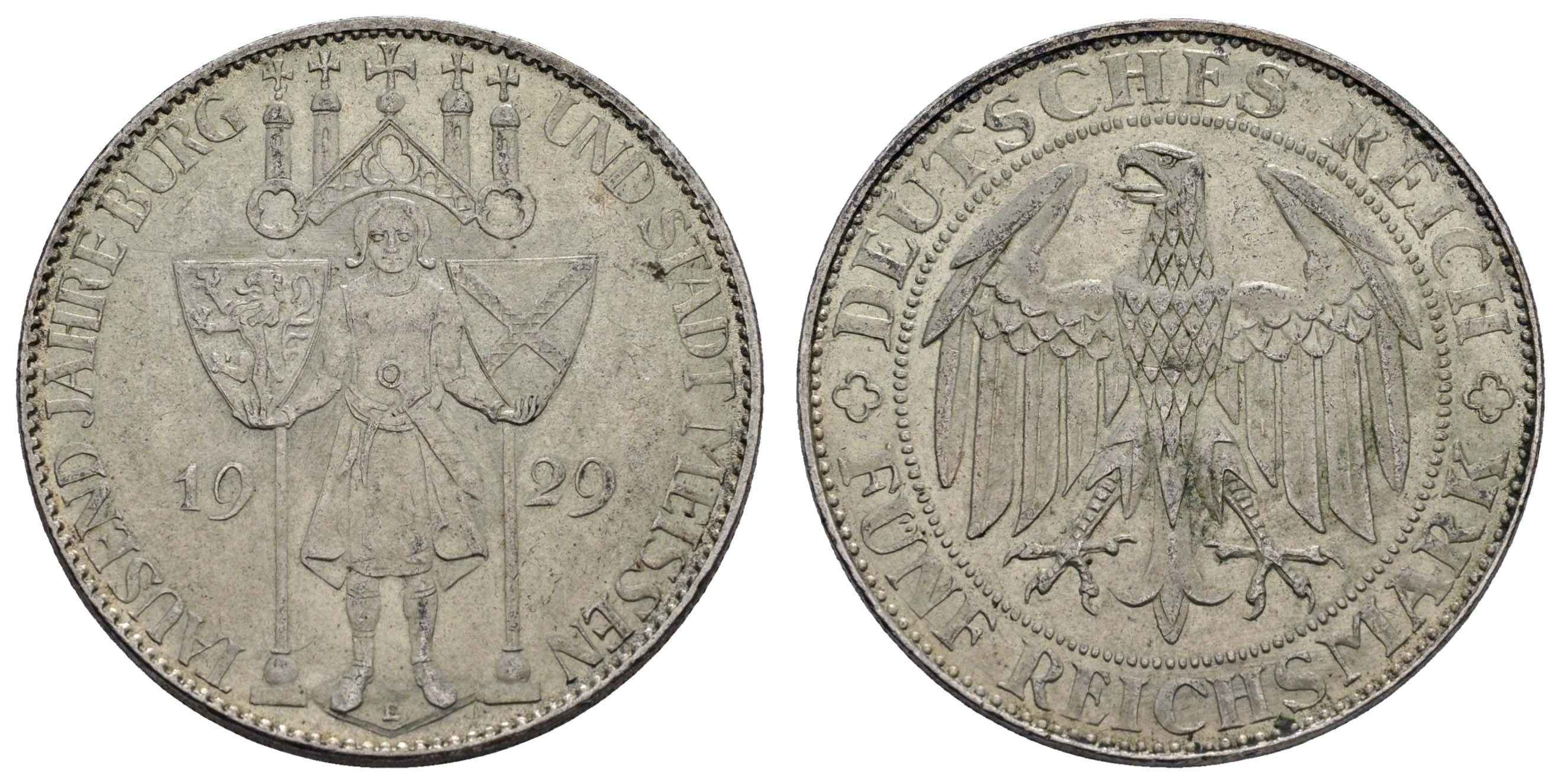 Lot 1012 - deutschland weimarer republik -  Auktionshaus Ulrich Felzmann GmbH & Co. KG Coins single lots