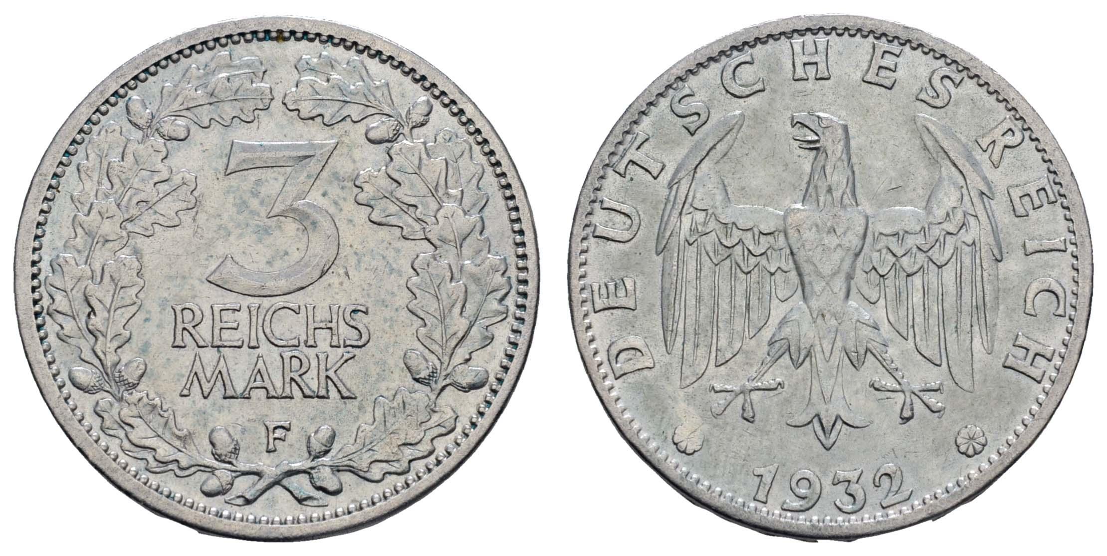 Lot 1038 - deutschland weimarer republik -  Auktionshaus Ulrich Felzmann GmbH & Co. KG Coins single lots