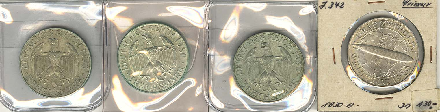 Lot 1055 - deutschland weimarer republik -  Auktionshaus Ulrich Felzmann GmbH & Co. KG Coins single lots