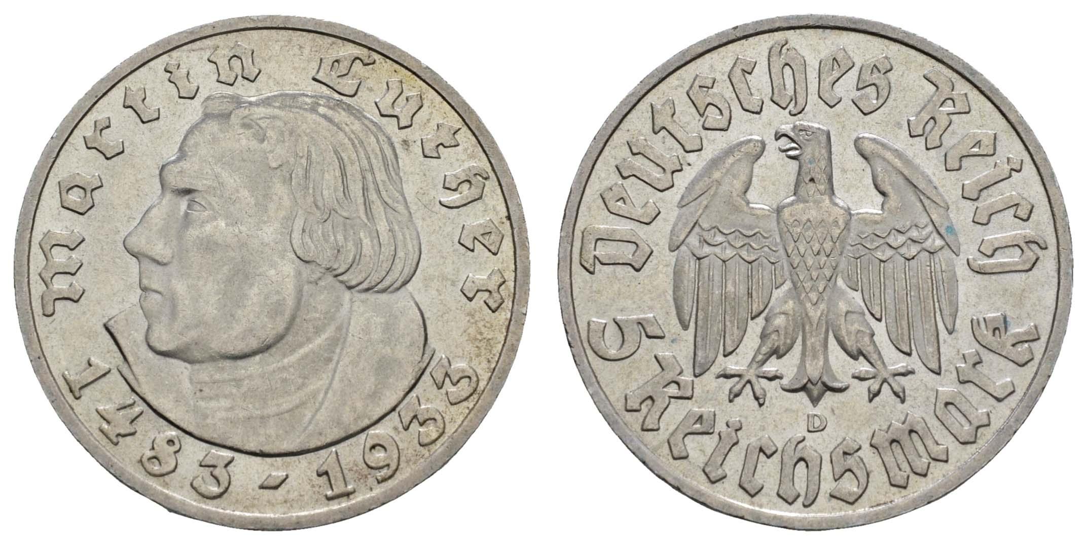 Lot 1077 - deutschland iii. reich -  Auktionshaus Ulrich Felzmann GmbH & Co. KG Coins single lots