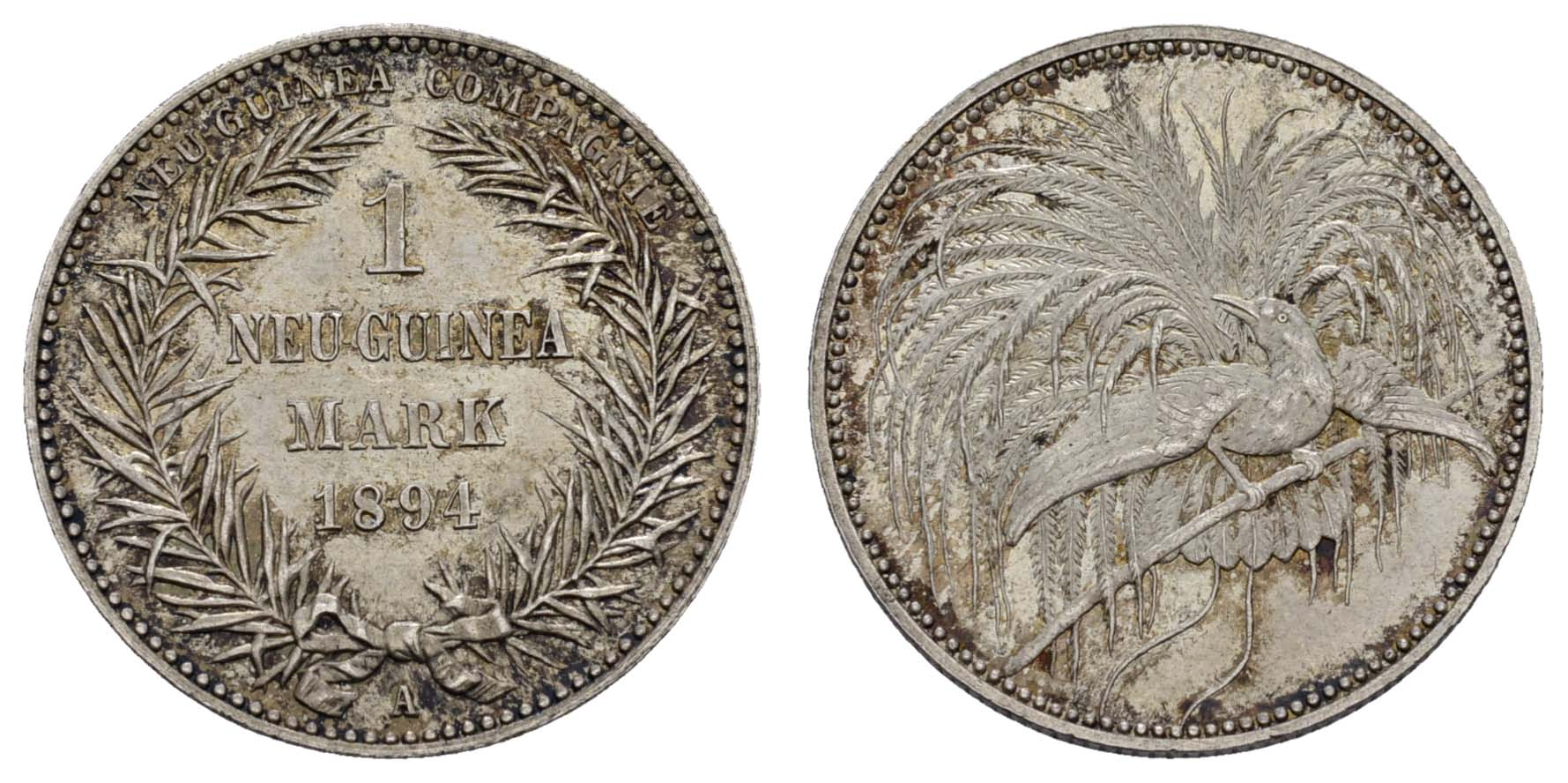 Lot 1096 - deutschland Nebengebiete - Deutsch-Neuguinea -  Auktionshaus Ulrich Felzmann GmbH & Co. KG Coins single lots