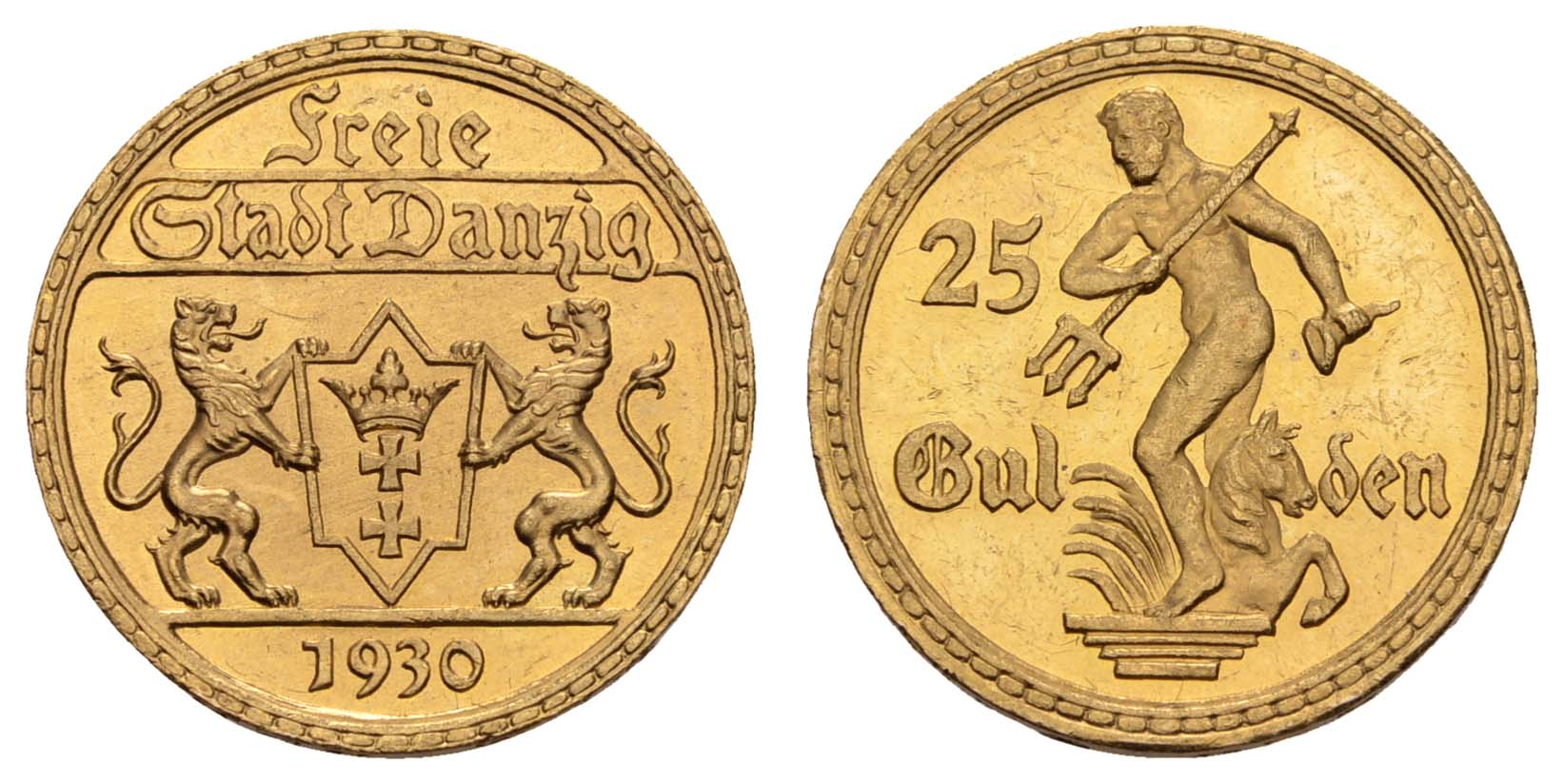 Lot 1103 - deutschland Nebengebiete - Danzig -  Auktionshaus Ulrich Felzmann GmbH & Co. KG Coins single lots