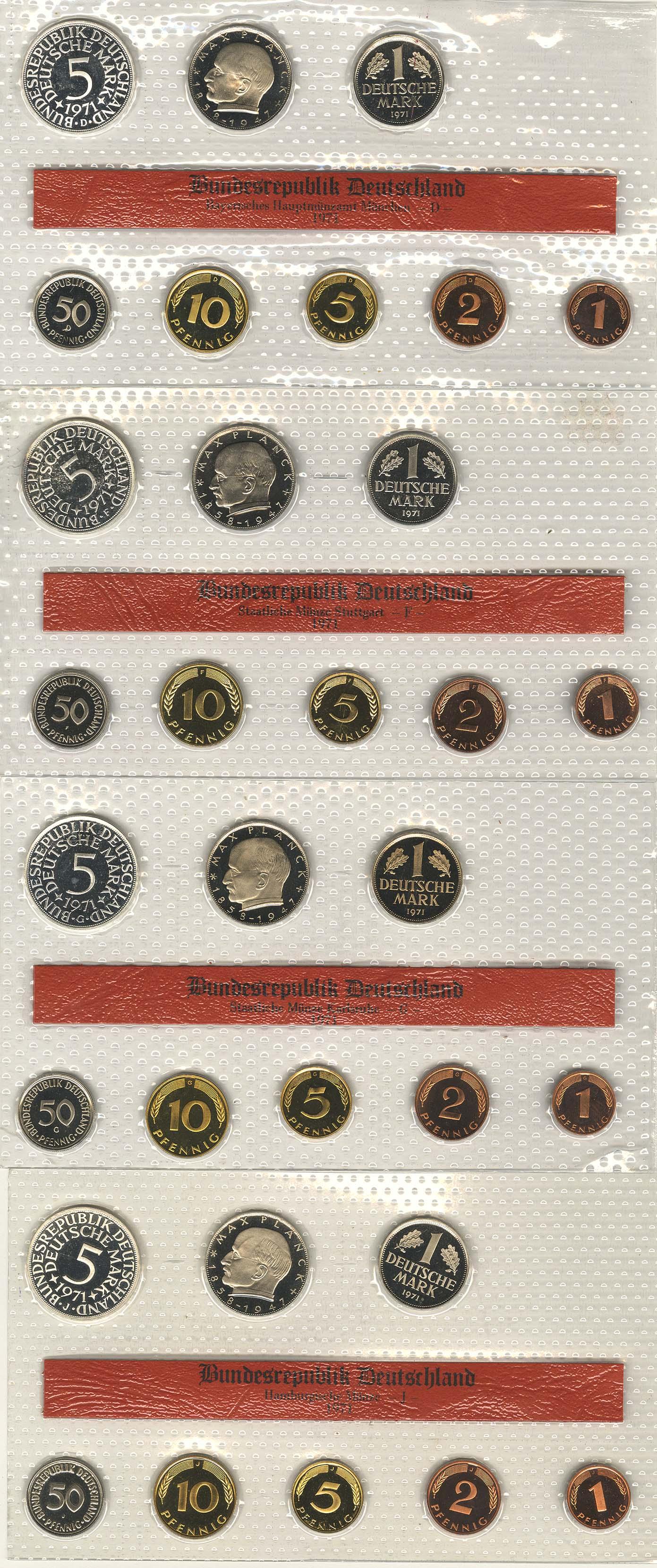 Lot 1115 - deutschland Bundesrepublik (DM) -  Auktionshaus Ulrich Felzmann GmbH & Co. KG Coins single lots