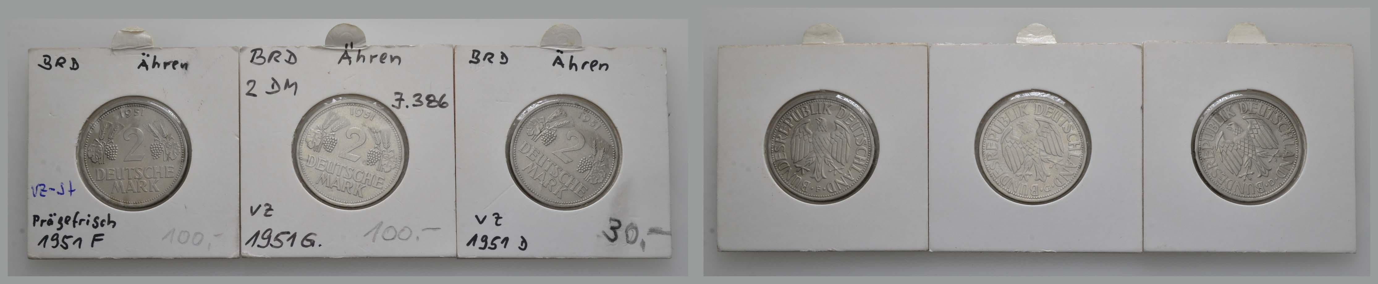 Lot 1128 - deutschland Bundesrepublik (DM) -  Auktionshaus Ulrich Felzmann GmbH & Co. KG Coins single lots