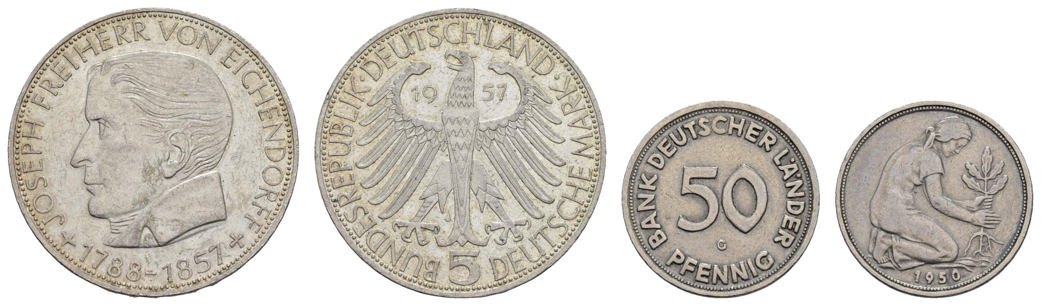 Lot 1156 - deutschland Bundesrepublik (DM) -  Auktionshaus Ulrich Felzmann GmbH & Co. KG Coins single lots