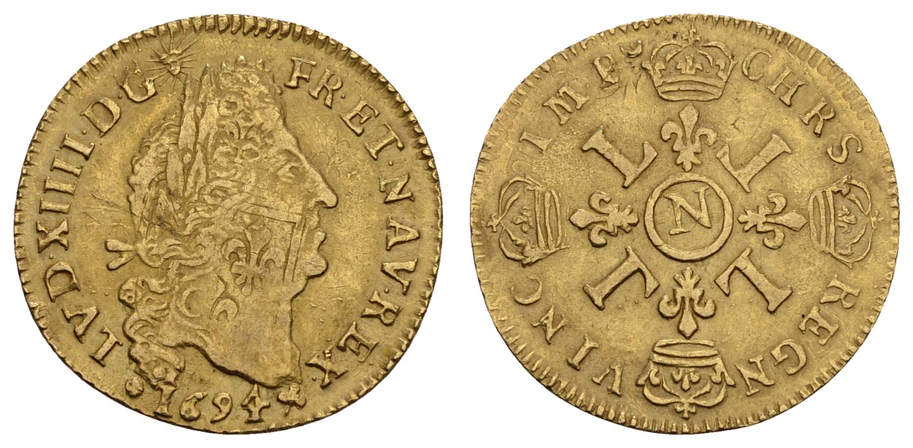 Lot 1295 - europa bis 1799 - Frankreich -  Auktionshaus Ulrich Felzmann GmbH & Co. KG Coins single lots