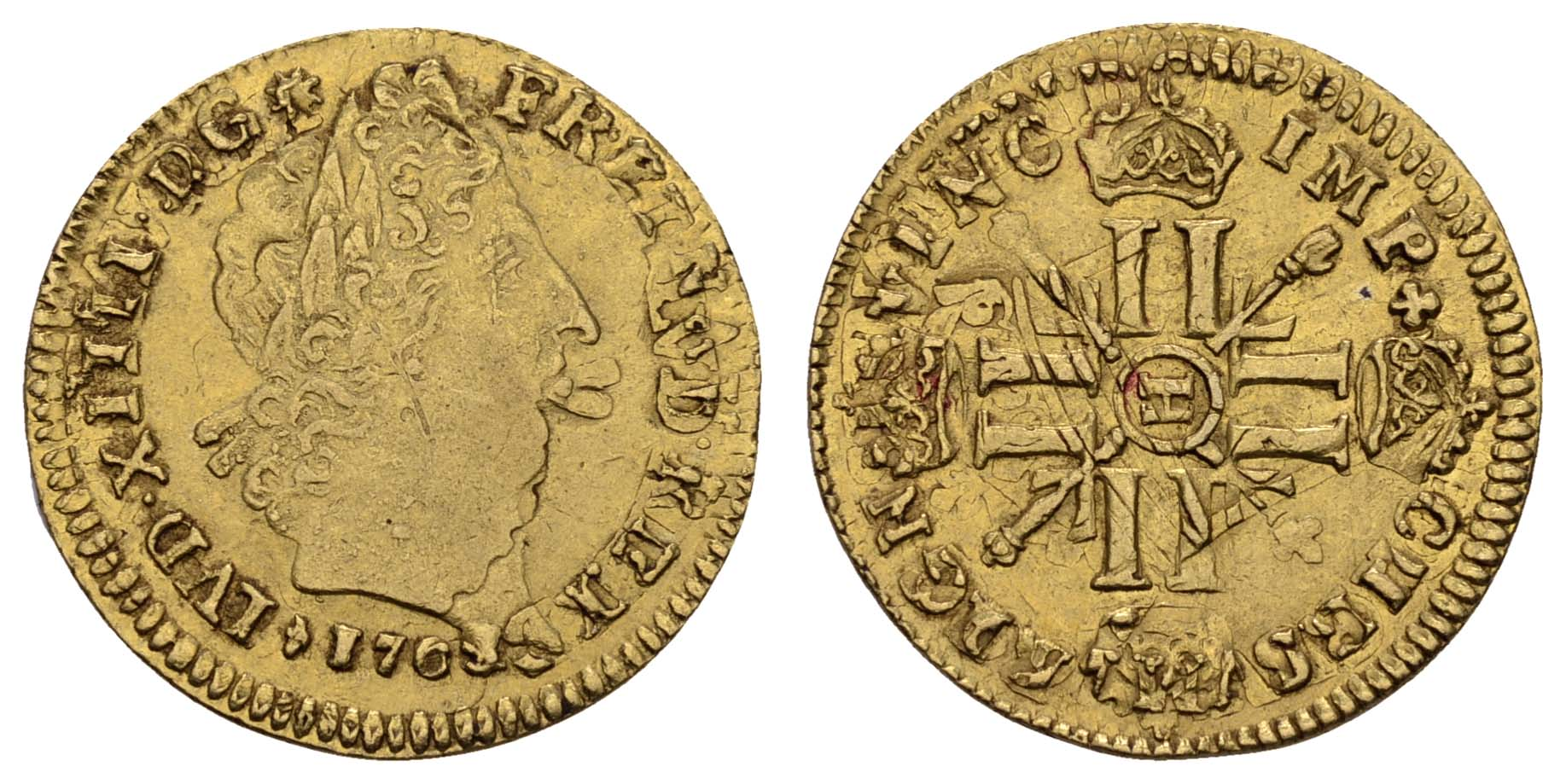 Lot 1296 - europa bis 1799 - Frankreich -  Auktionshaus Ulrich Felzmann GmbH & Co. KG Coins single lots