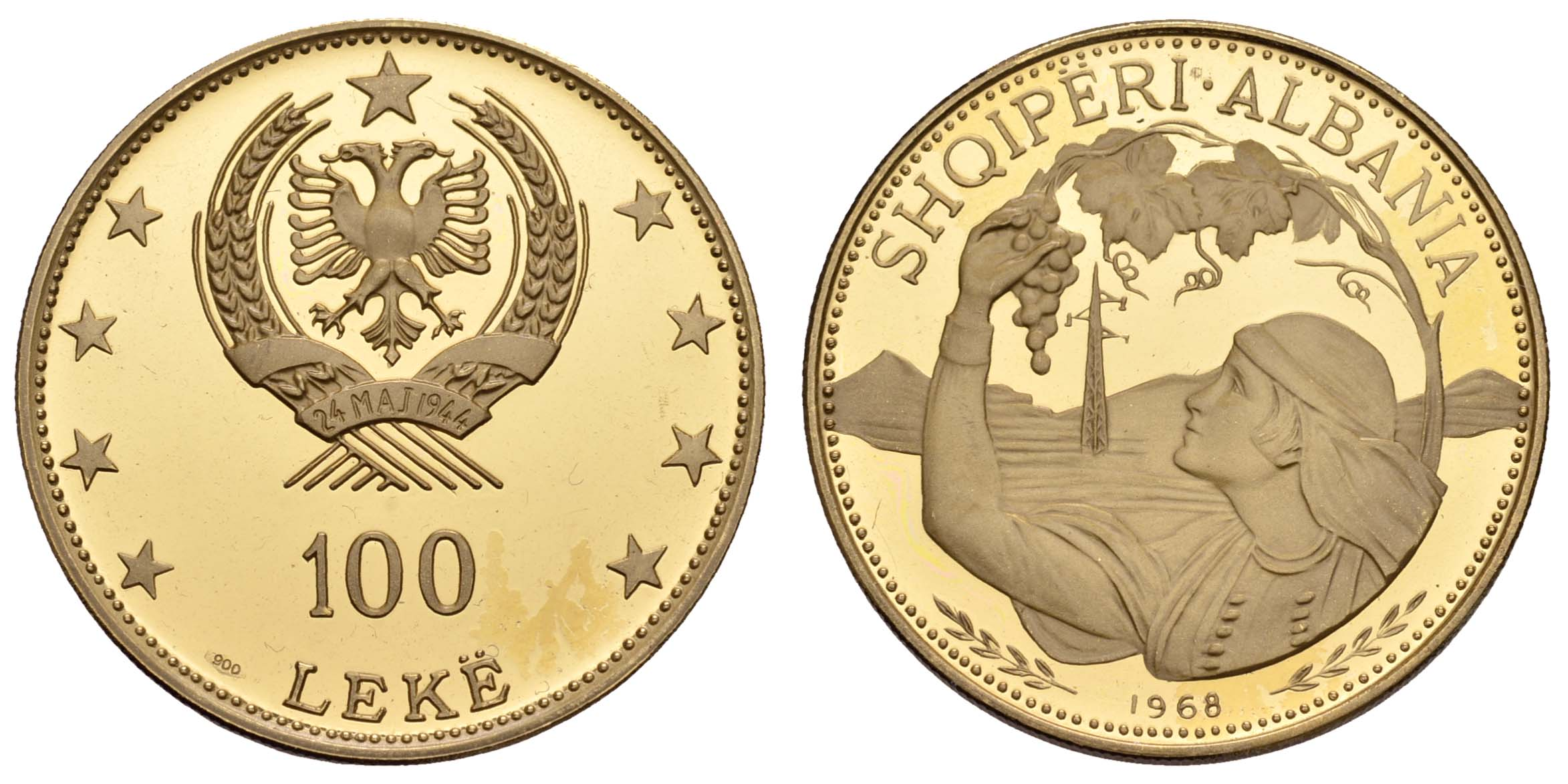 Lot 1439 - europa ab 1800 - Albanien -  Auktionshaus Ulrich Felzmann GmbH & Co. KG Coins single lots