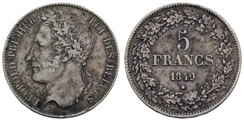 Lot 1445 - europa ab 1800 - Belgien -  Auktionshaus Ulrich Felzmann GmbH & Co. KG Coins single lots