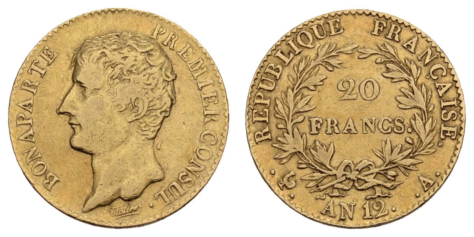 Lot 1456 - europa ab 1800 - Frankreich -  Auktionshaus Ulrich Felzmann GmbH & Co. KG Coins single lots