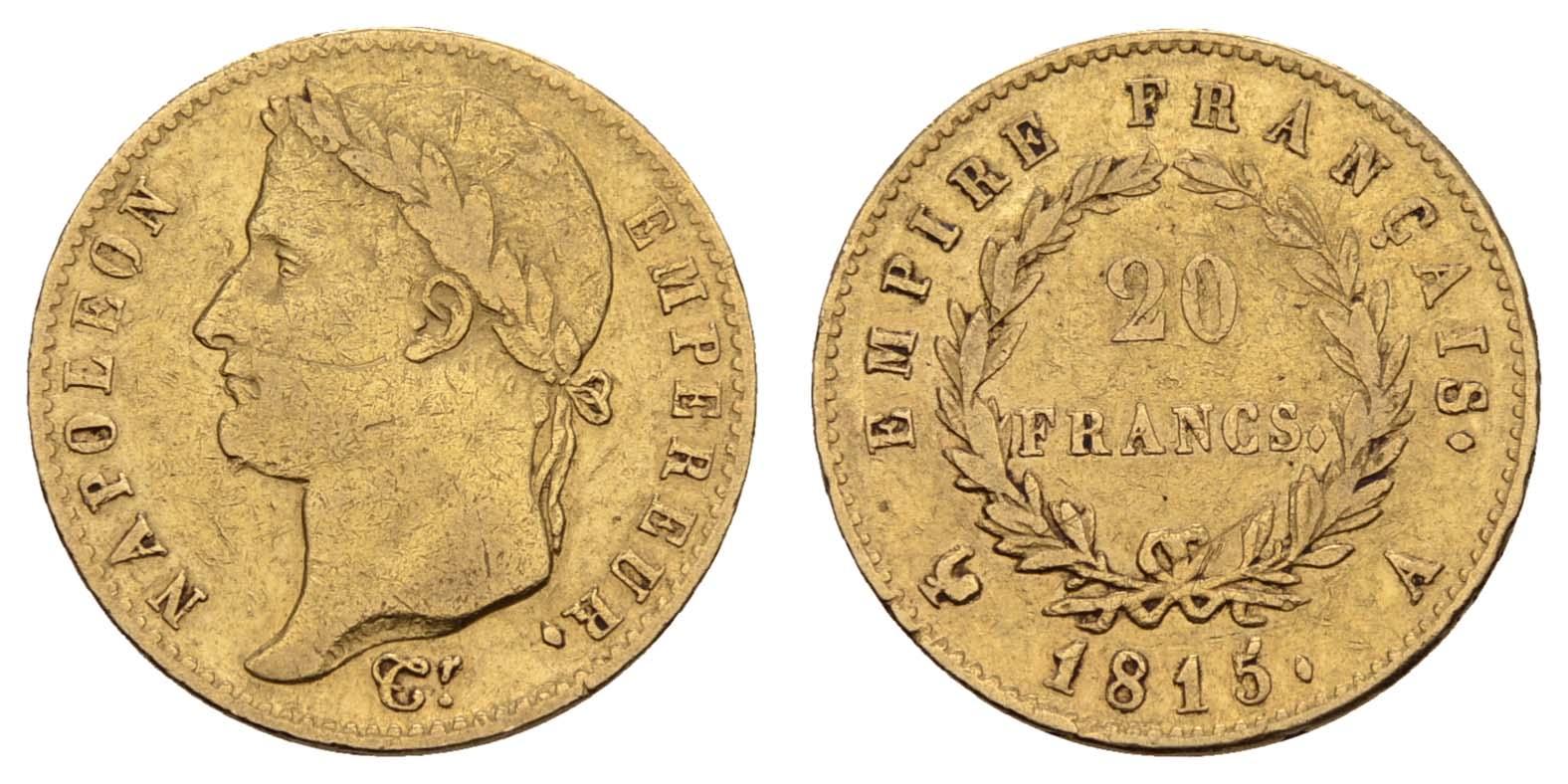 Lot 1478 - europa ab 1800 - Frankreich -  Auktionshaus Ulrich Felzmann GmbH & Co. KG Coins single lots