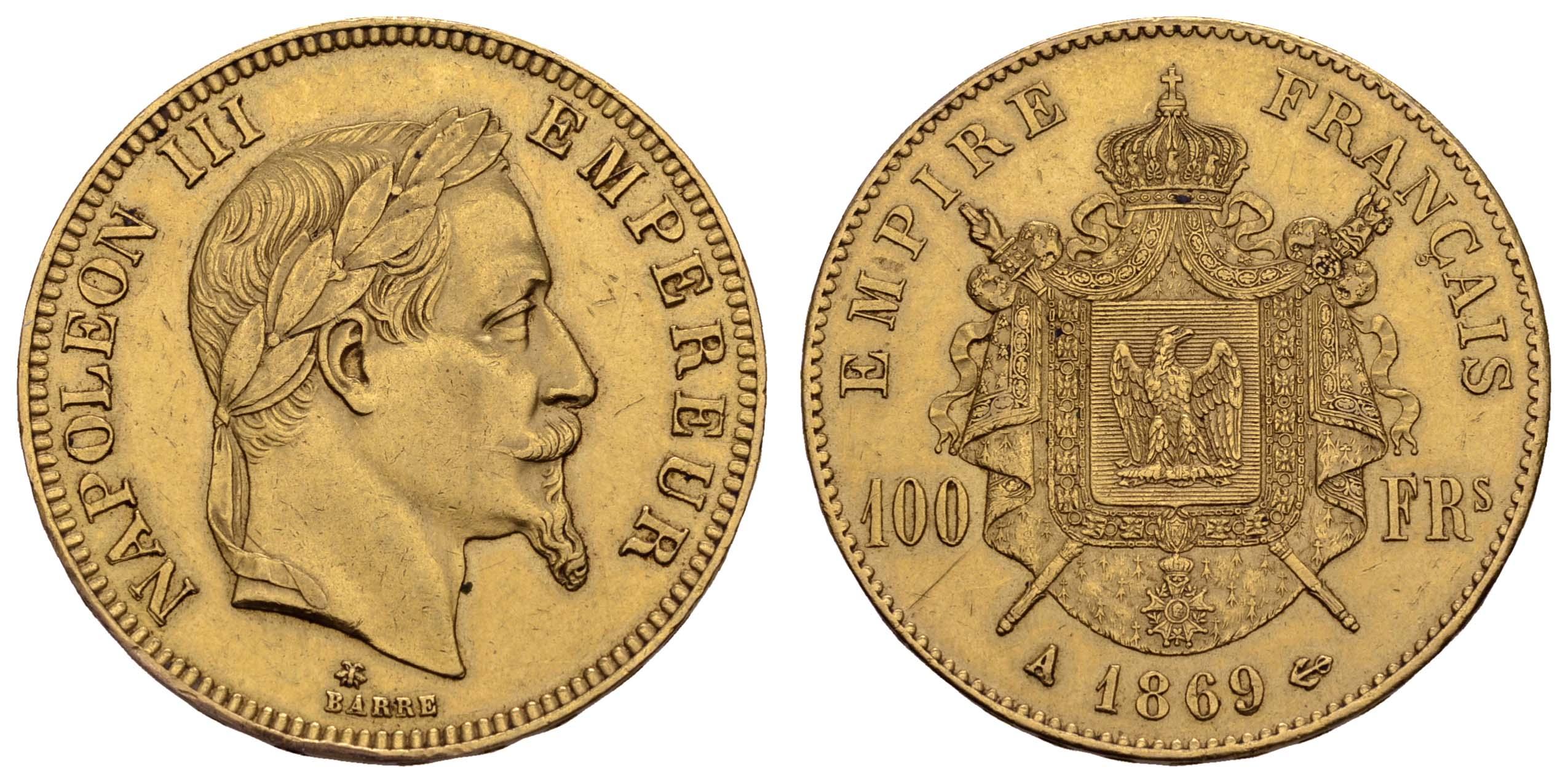 Lot 1525 - europa ab 1800 - Frankreich -  Auktionshaus Ulrich Felzmann GmbH & Co. KG Coins single lots