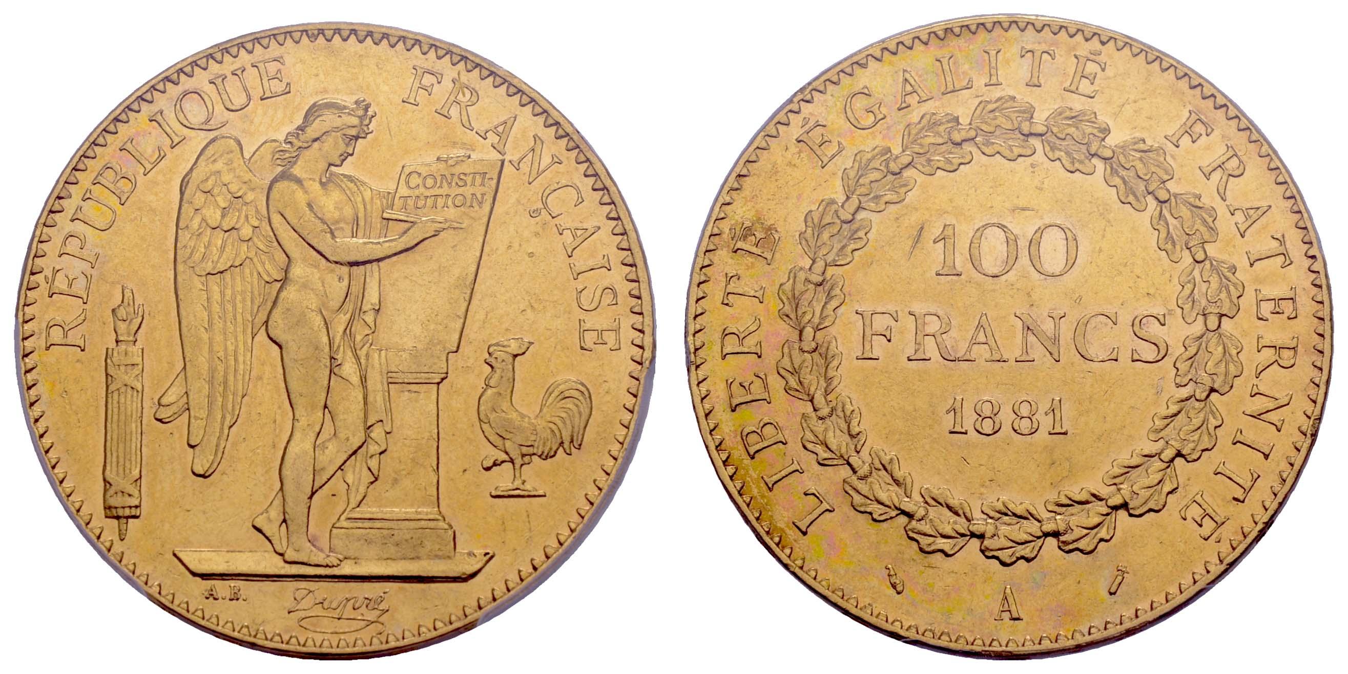 Lot 1530 - europa ab 1800 - Frankreich -  Auktionshaus Ulrich Felzmann GmbH & Co. KG Coins single lots