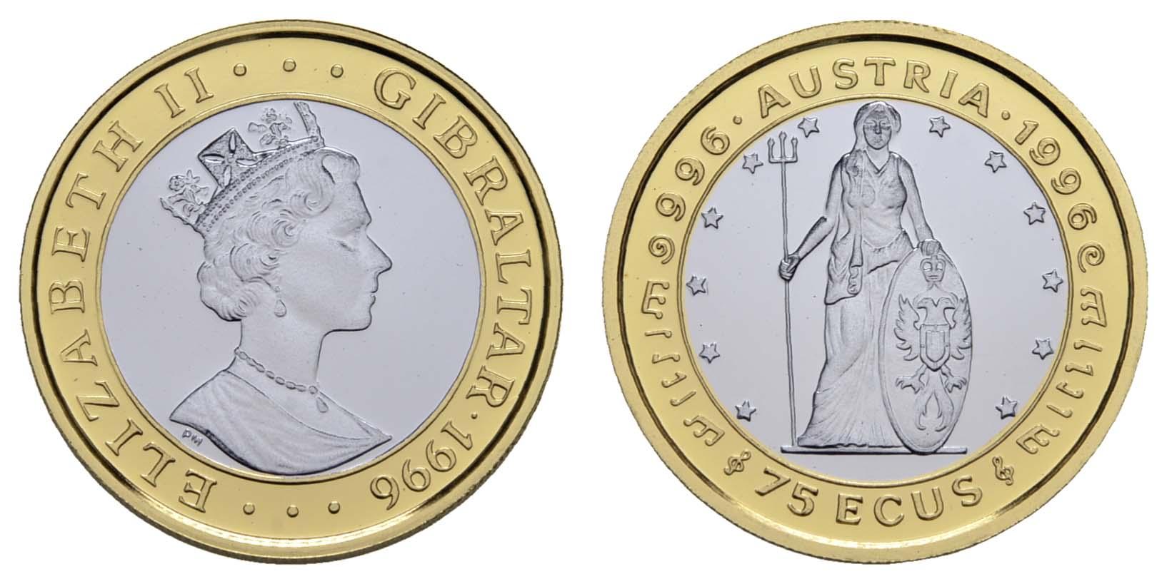 Lot 1556 - europa ab 1800 - Gibraltar -  Auktionshaus Ulrich Felzmann GmbH & Co. KG Coins single lots