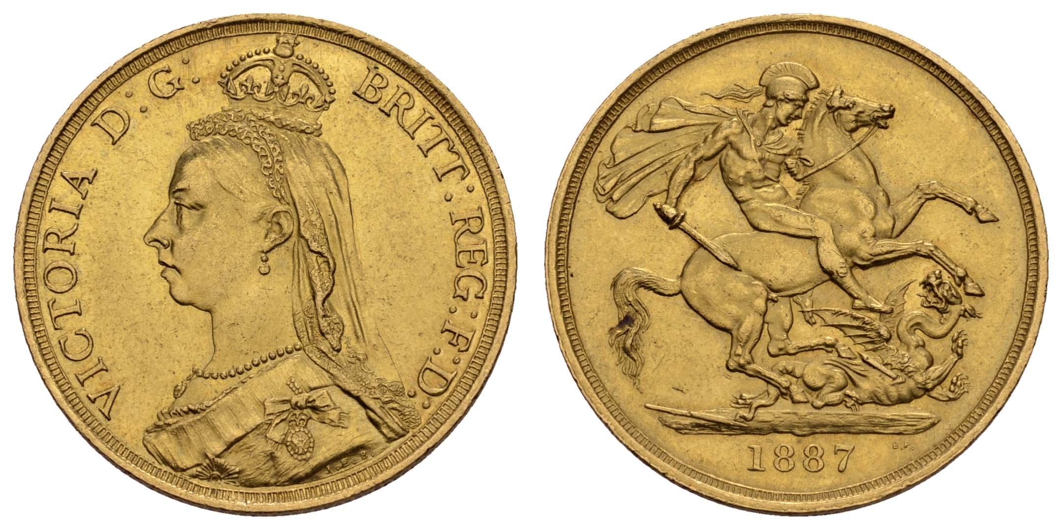 Lot 1578 - europa ab 1800 - Großbritannien -  Auktionshaus Ulrich Felzmann GmbH & Co. KG Coins single lots