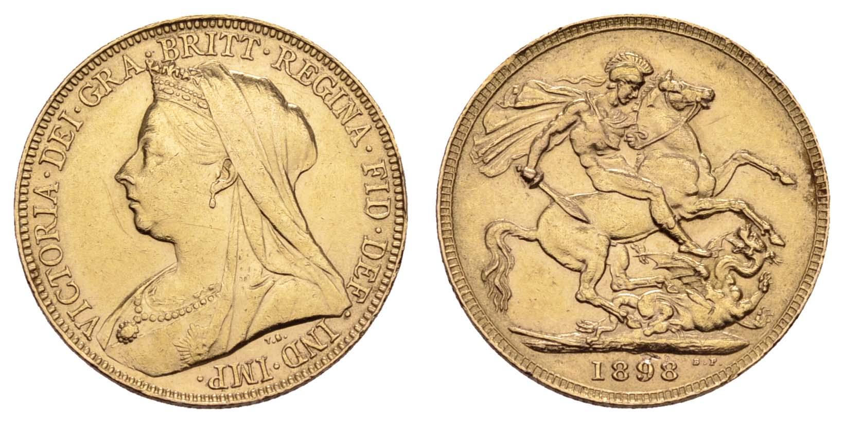 Lot 1588 - europa ab 1800 - Großbritannien -  Auktionshaus Ulrich Felzmann GmbH & Co. KG Coins single lots