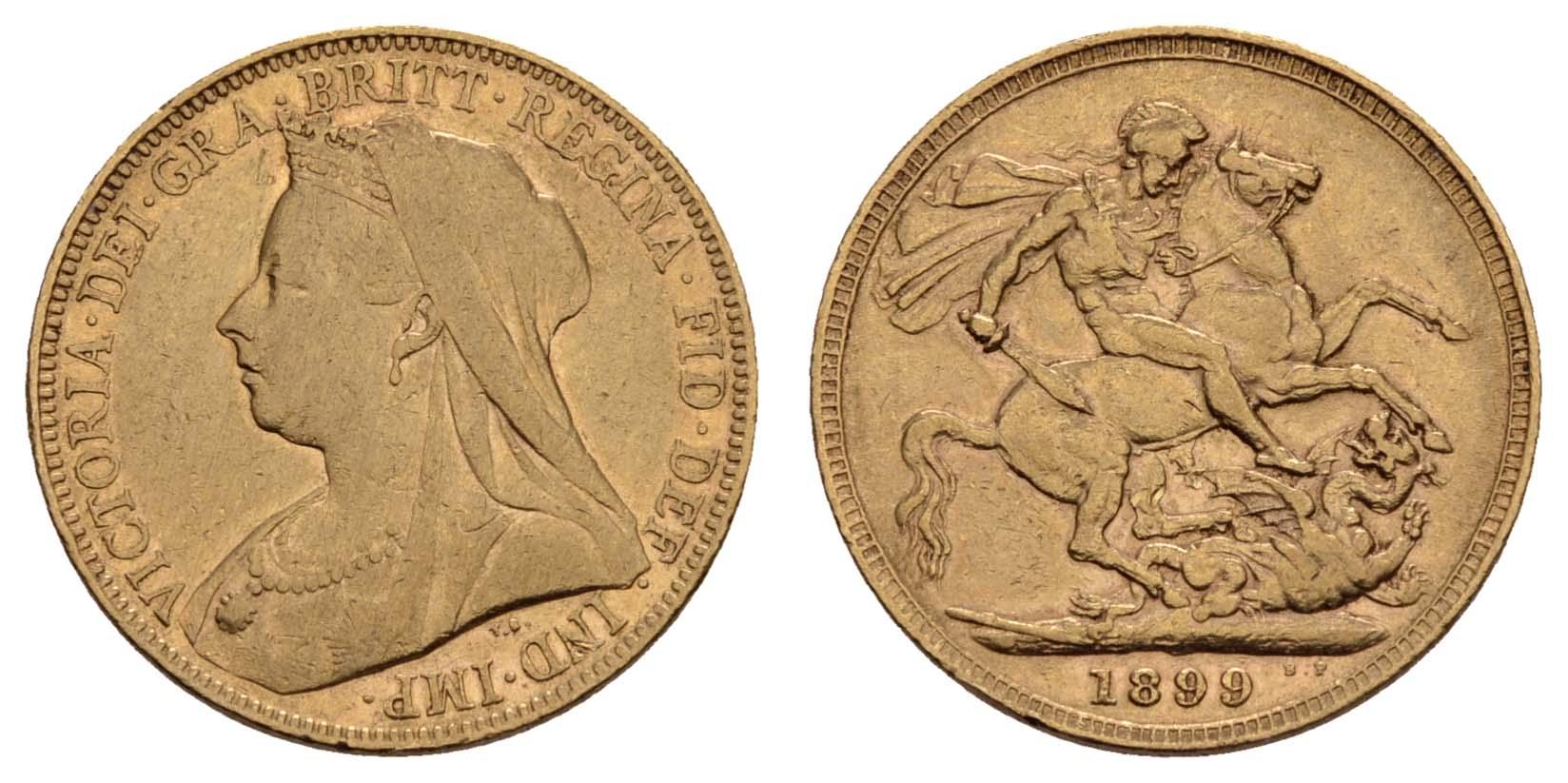 Lot 1589 - europa ab 1800 - Großbritannien -  Auktionshaus Ulrich Felzmann GmbH & Co. KG Coins single lots