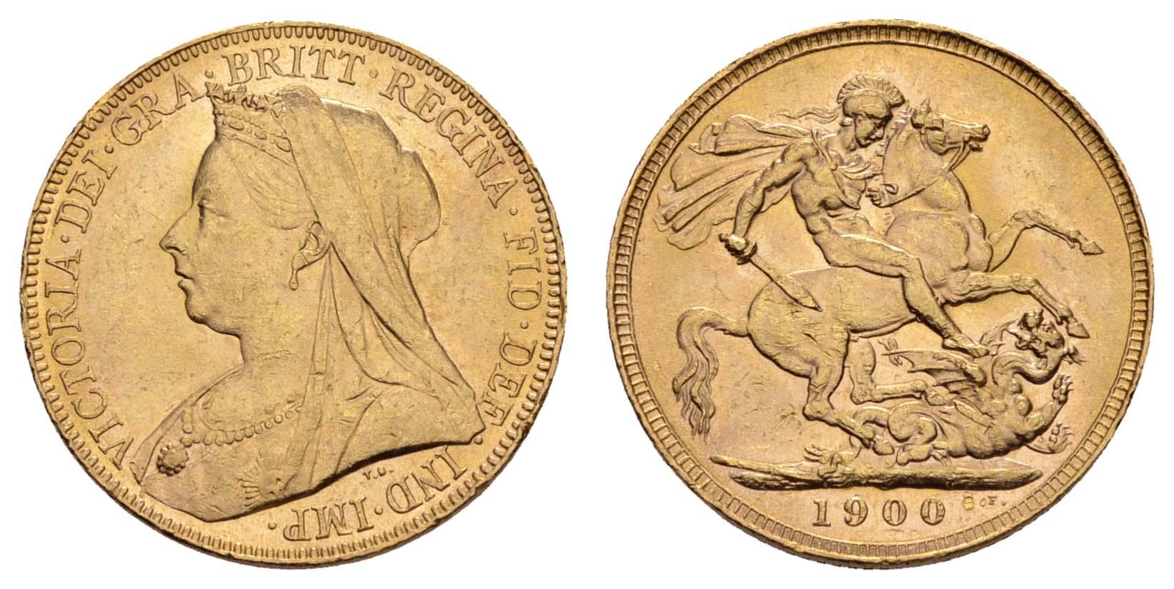 Lot 1591 - europa ab 1800 - Großbritannien -  Auktionshaus Ulrich Felzmann GmbH & Co. KG Coins single lots